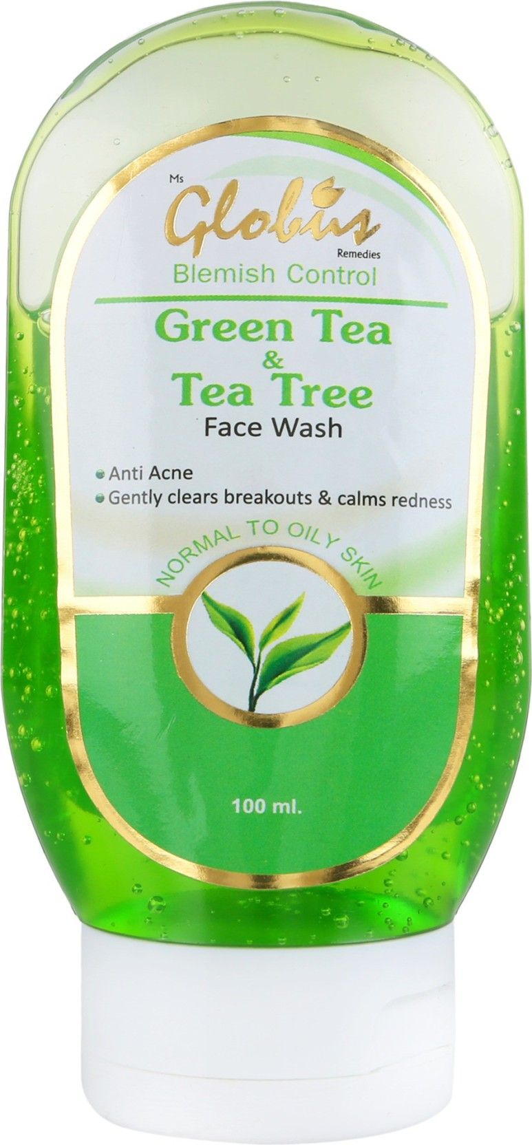 Globus Green Tea Tree Face Wash Price In India Buy Acnes Oil Clay Mask 50g On Offer