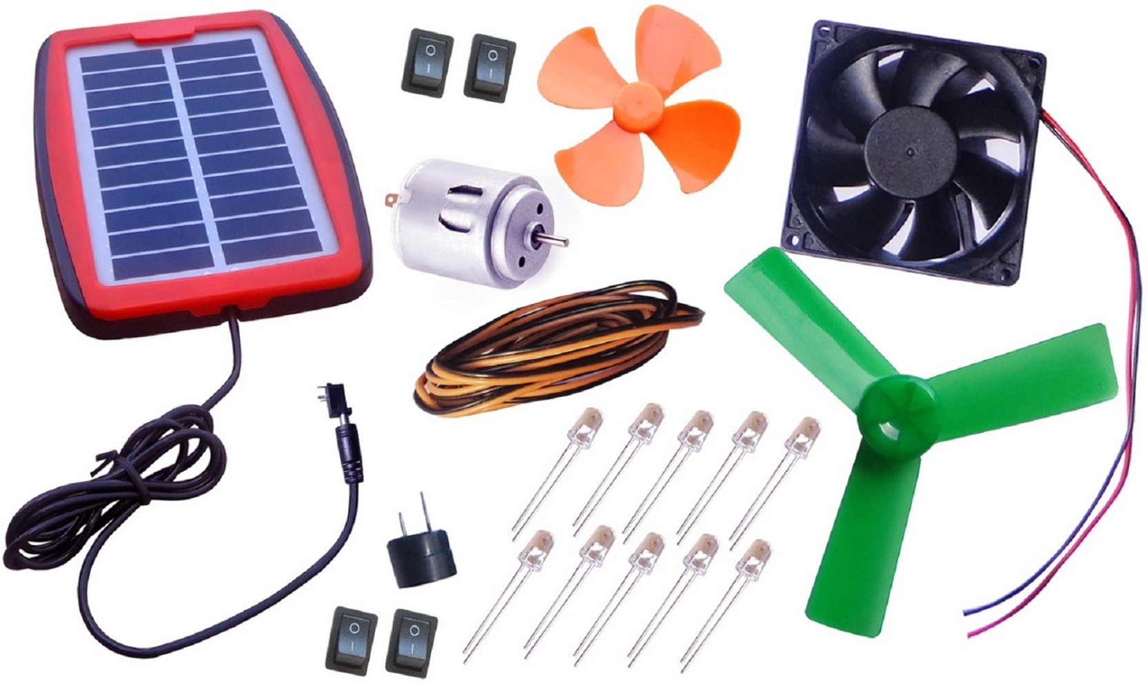 Project Maker Multipurpose Solar Energy Kit Price In India Buy By Electronic Projects Electrical Add To Cart