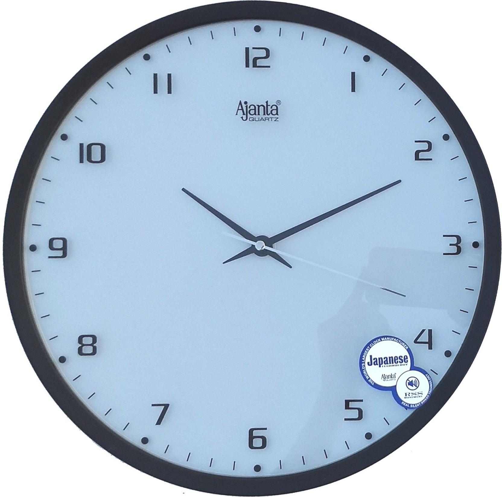 Ajanta analog 31 cm dia wall clock price in india buy ajanta ajanta analog 31 cm dia wall clock add to cart amipublicfo Images