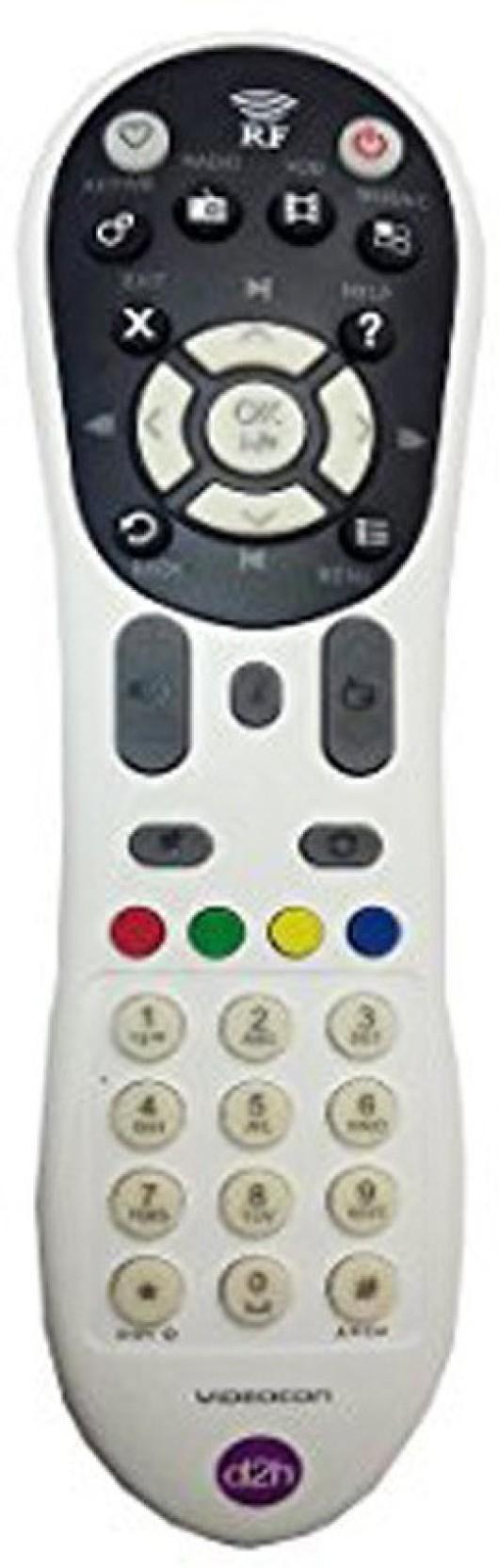 Videocon d2h RF HD dth settop box Remote Controller