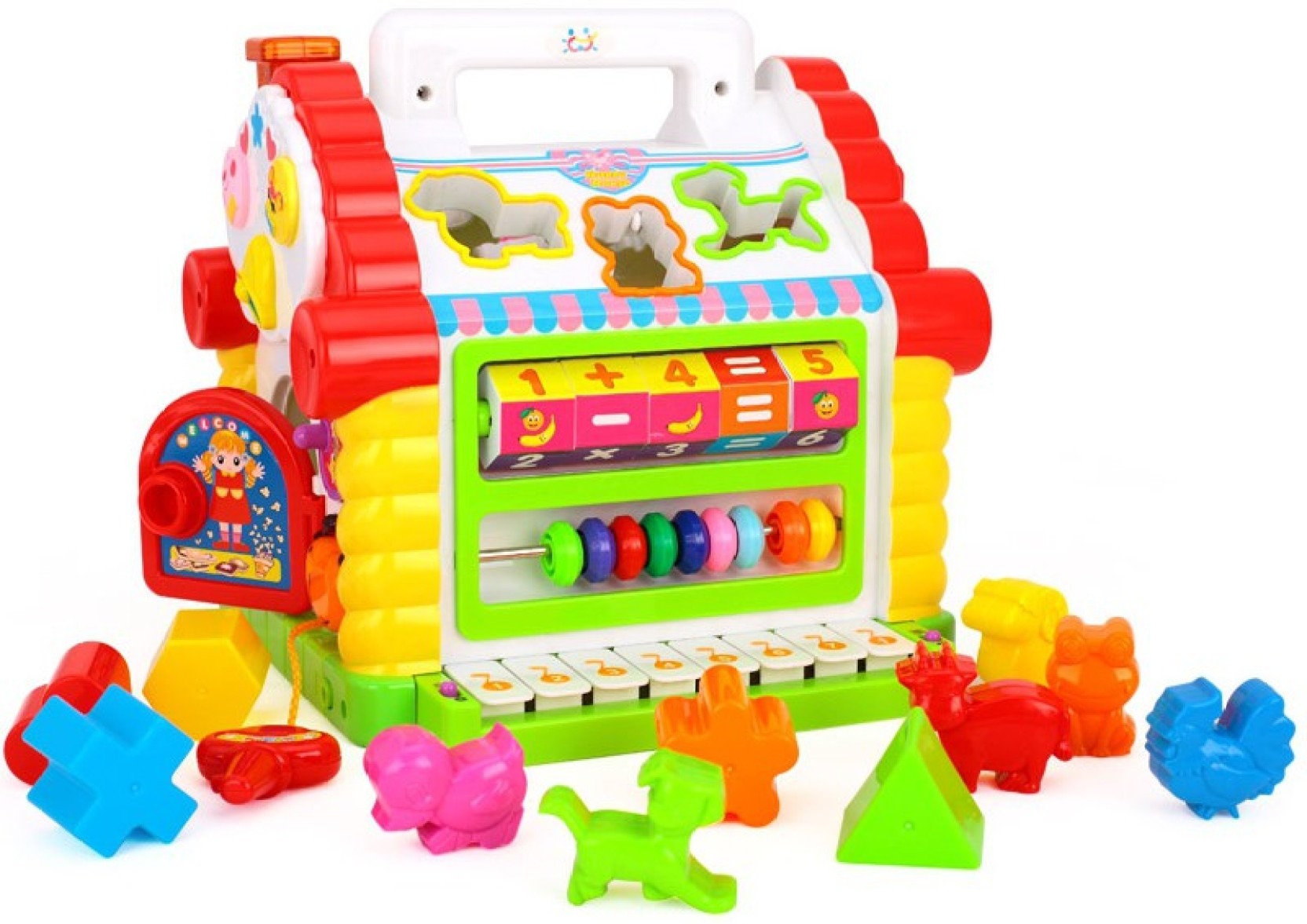 GoAppuGo Learning House with piano Baby birthday t for 1 2 3