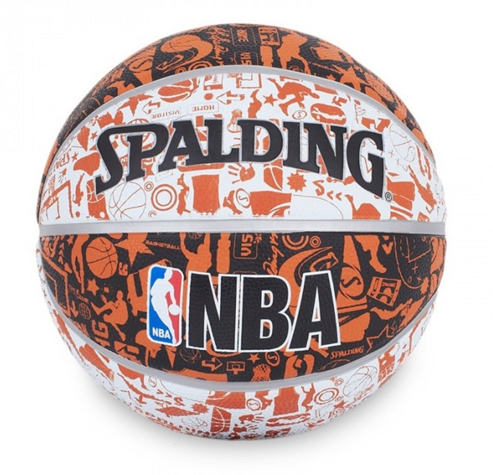 Spalding NBA Graffiti Basketball - Size: 7 - Buy Spalding ...