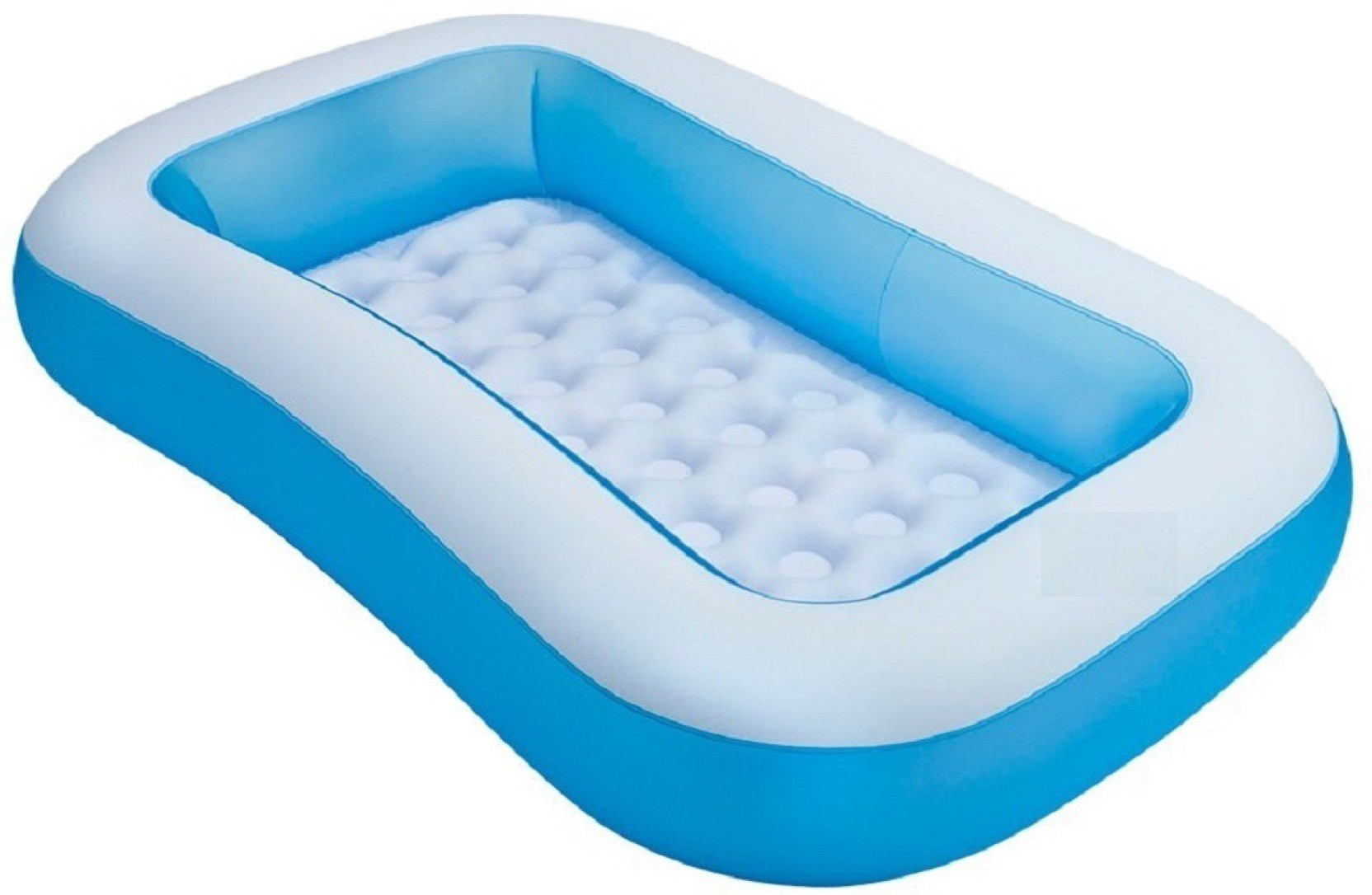 Royle Katoch Inflatable 5 Feet Rectangular Pool Tub Baby Bath Seat ...