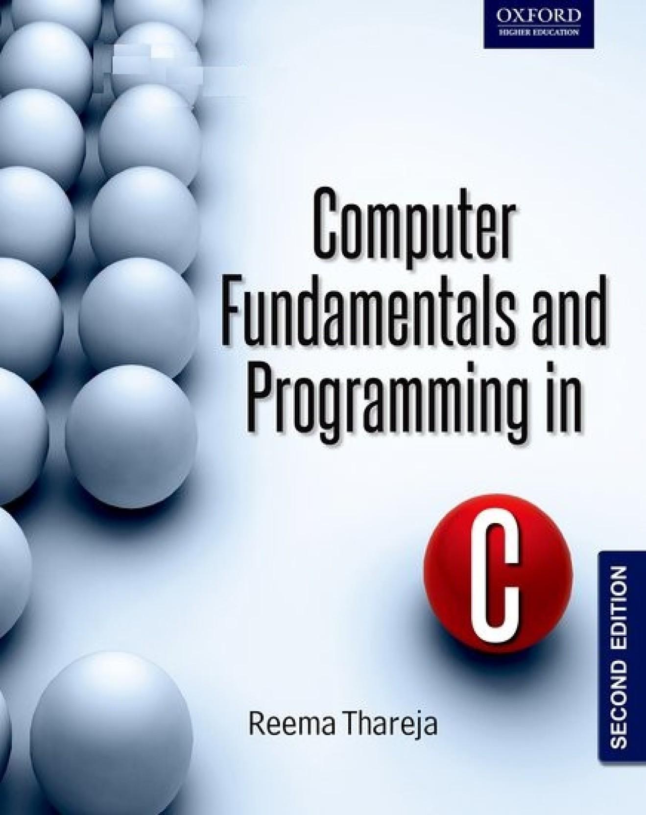Computer Fundamentals And C Programming Ebook