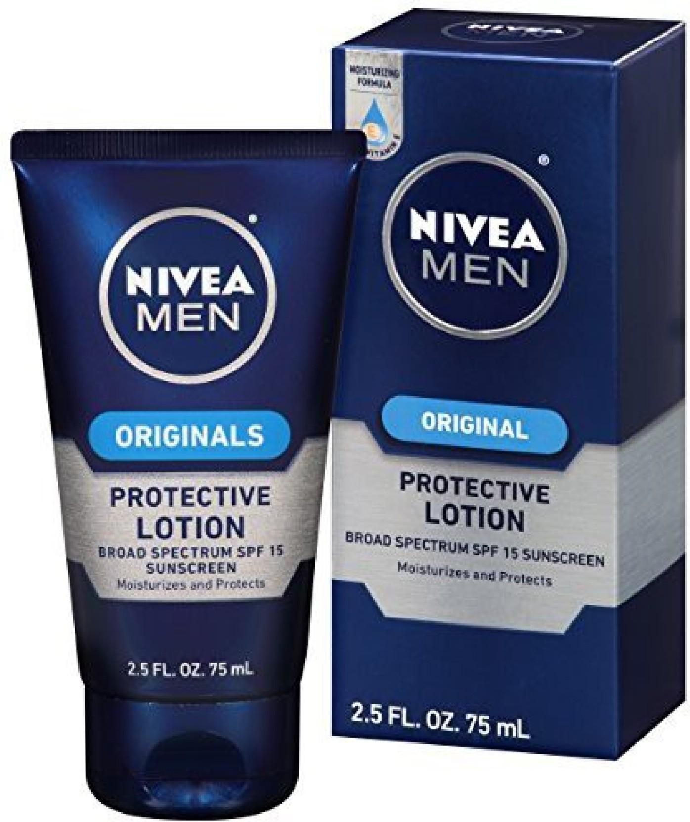 Nivea Men Original Protective Lotion Price In India Buy Moisture Sun Spf 50 100 M Share