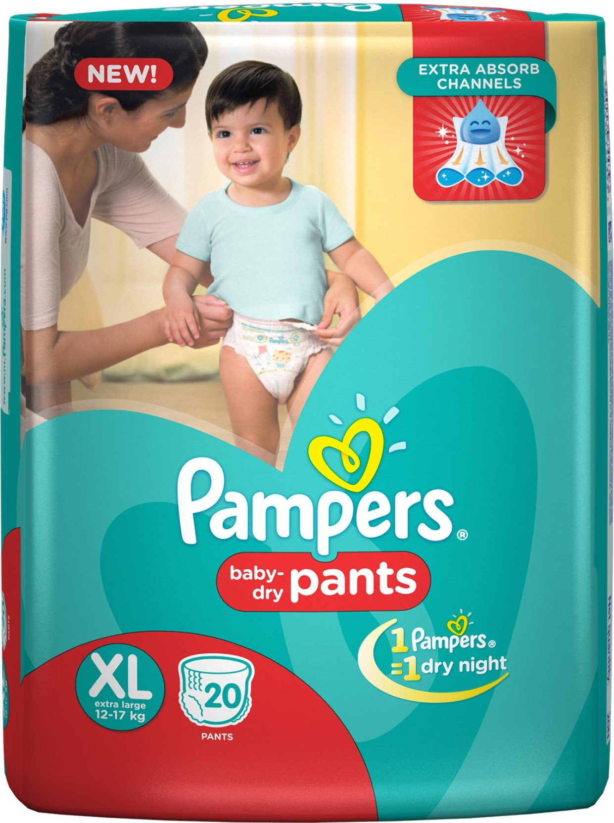 Pampers Pant Diapers Xl Buy 20 Pampers Cotton Inner