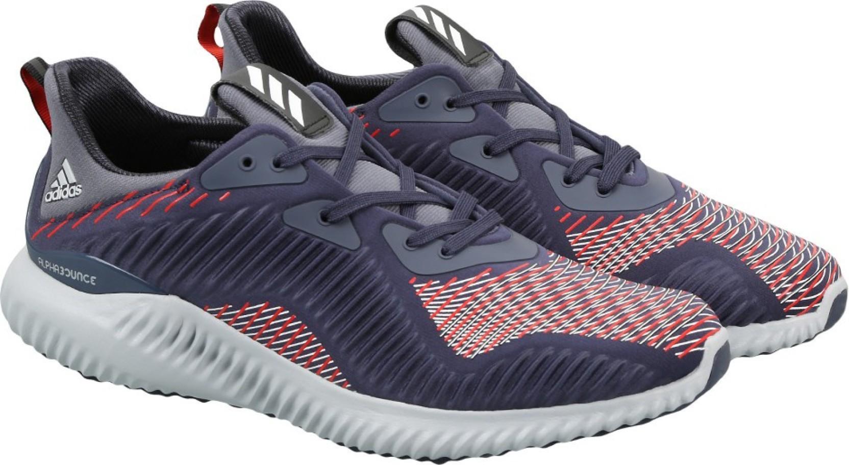 782d80f9794dc ADIDAS ALPHABOUNCE HPC M Running Shoes For Men - Buy MIDGRE FTWWHT ...