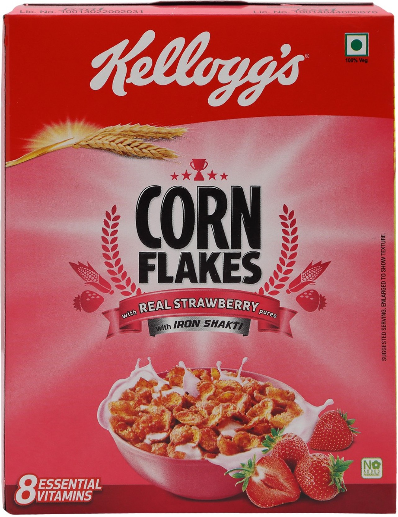 Kelloggs Corn Flakes Real Strawberry Price In India Buy Deal Add To Basket