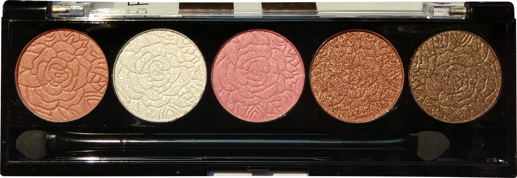 Odbo Rose Eyeshadow Palette 7 G Price In India Buy Claire Ivory Nokha Wedges Women 39 On Offer