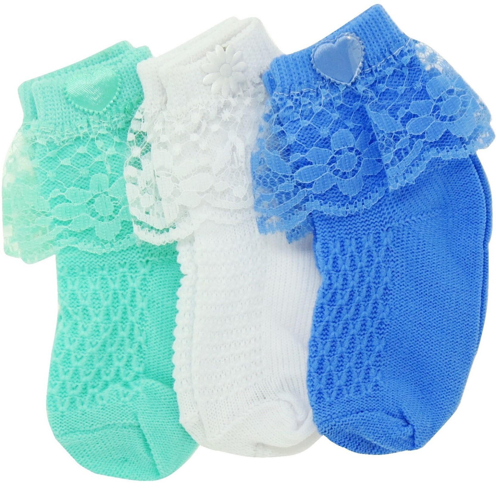 Neska Moda Baby Boys & Baby Girls Solid Ankle Length Socks Buy