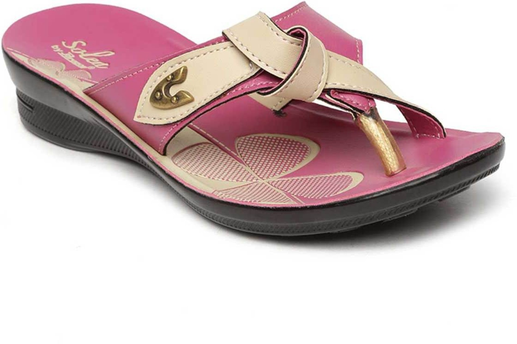 ee499b59098a Paragon Women Pink Sandals - Buy Paragon Women Pink Sandals Online ...