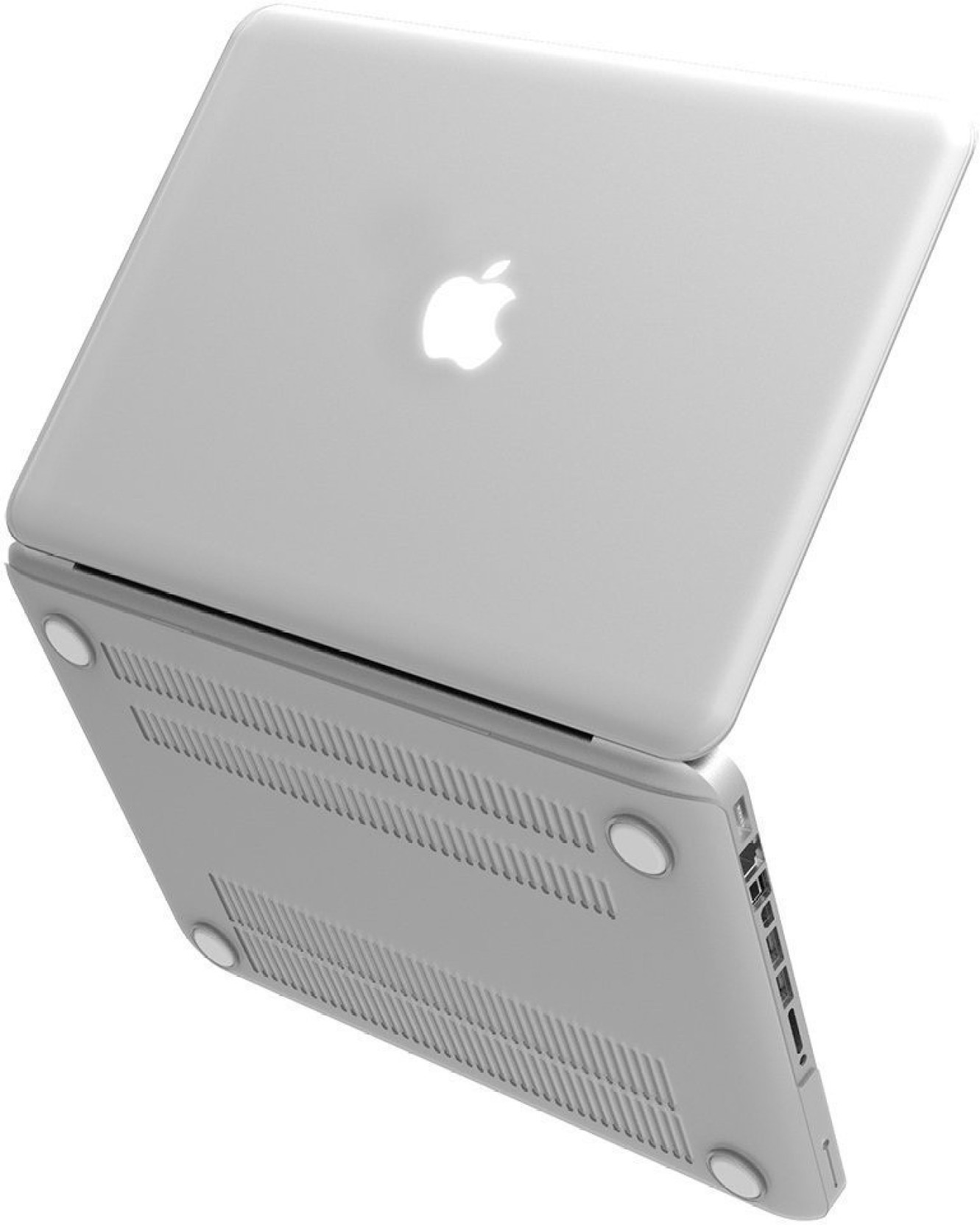 Moca Front Back Case For Logo Cut With 3 Mac Saviours Accessories Apple Macbook Pro Md101 Silver Notebook Share