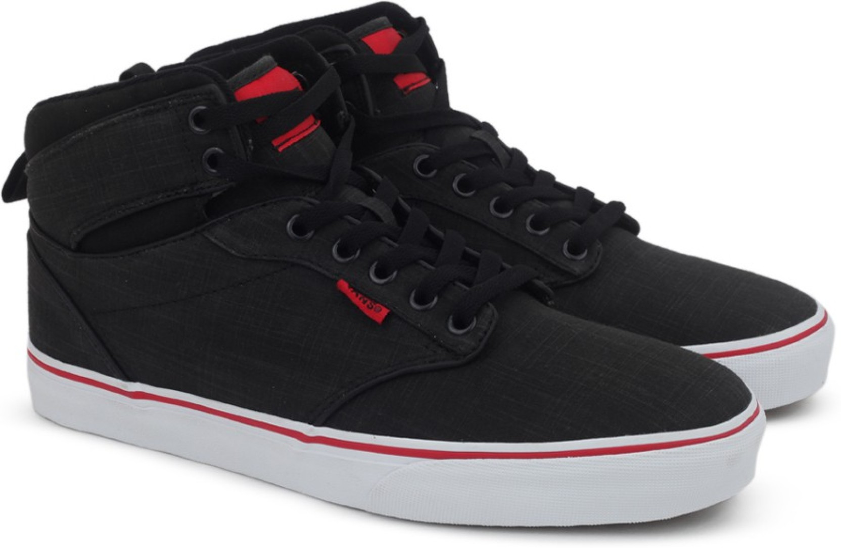 Vans ATWOOD HI High Ankle Sneakers For Men - Buy (ROCK TEXTILE ... 4a6aece22
