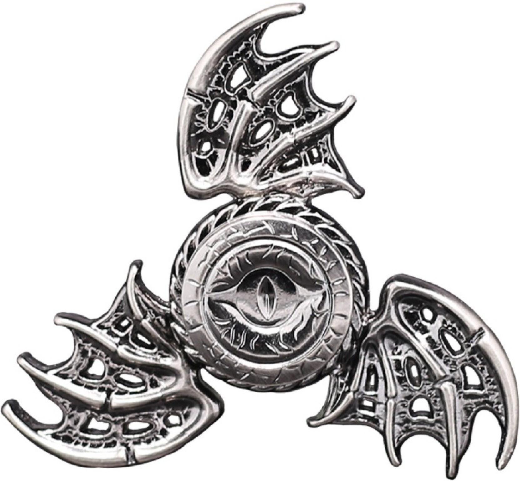 Venoo Metal Fidget Spinner Dragon Eye Game Of Thrones Unique Crescent Tri Bar Handspinner Home