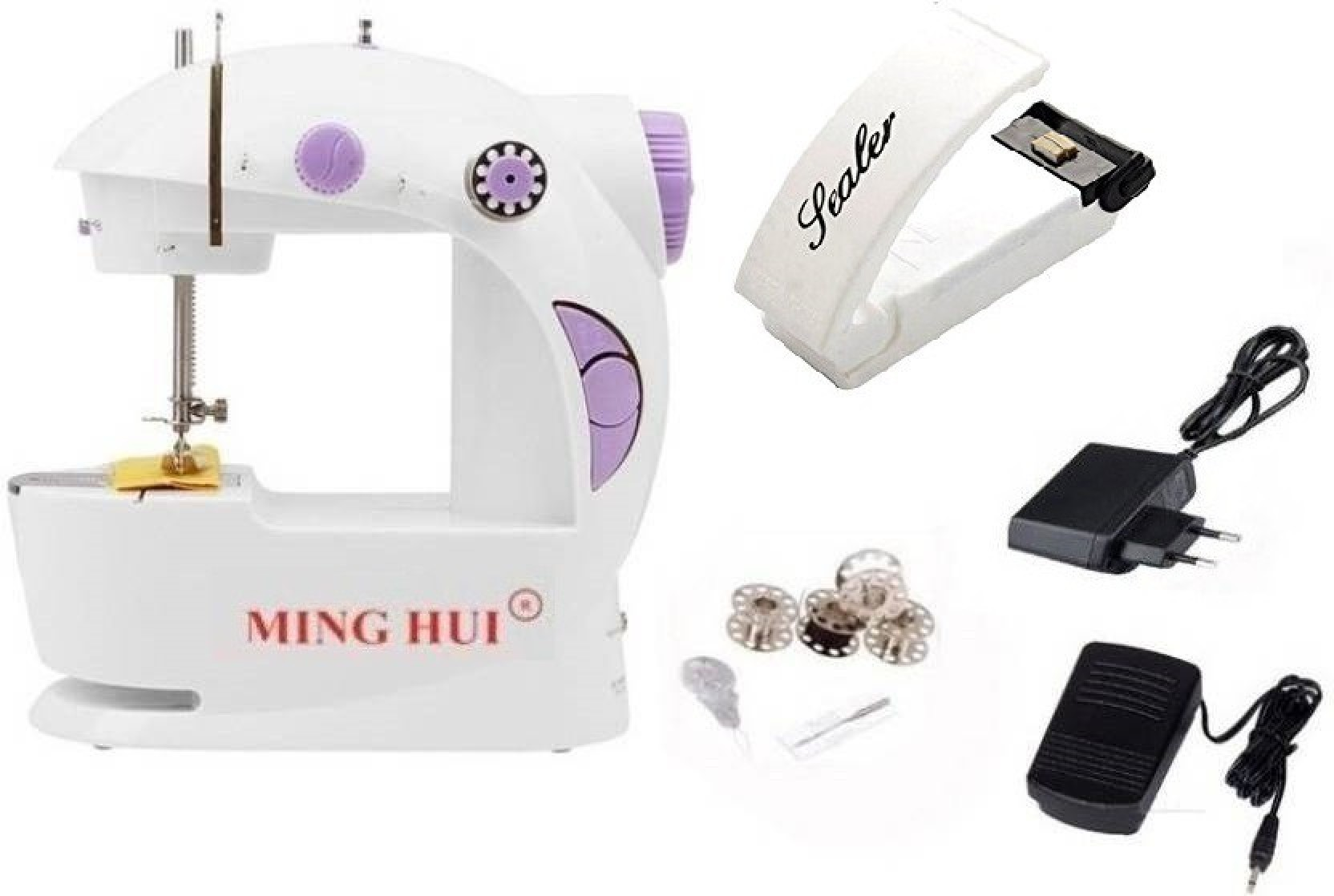 Mini Portable Electric Sealing Machine Heat Super Sealer Closer Heating JH
