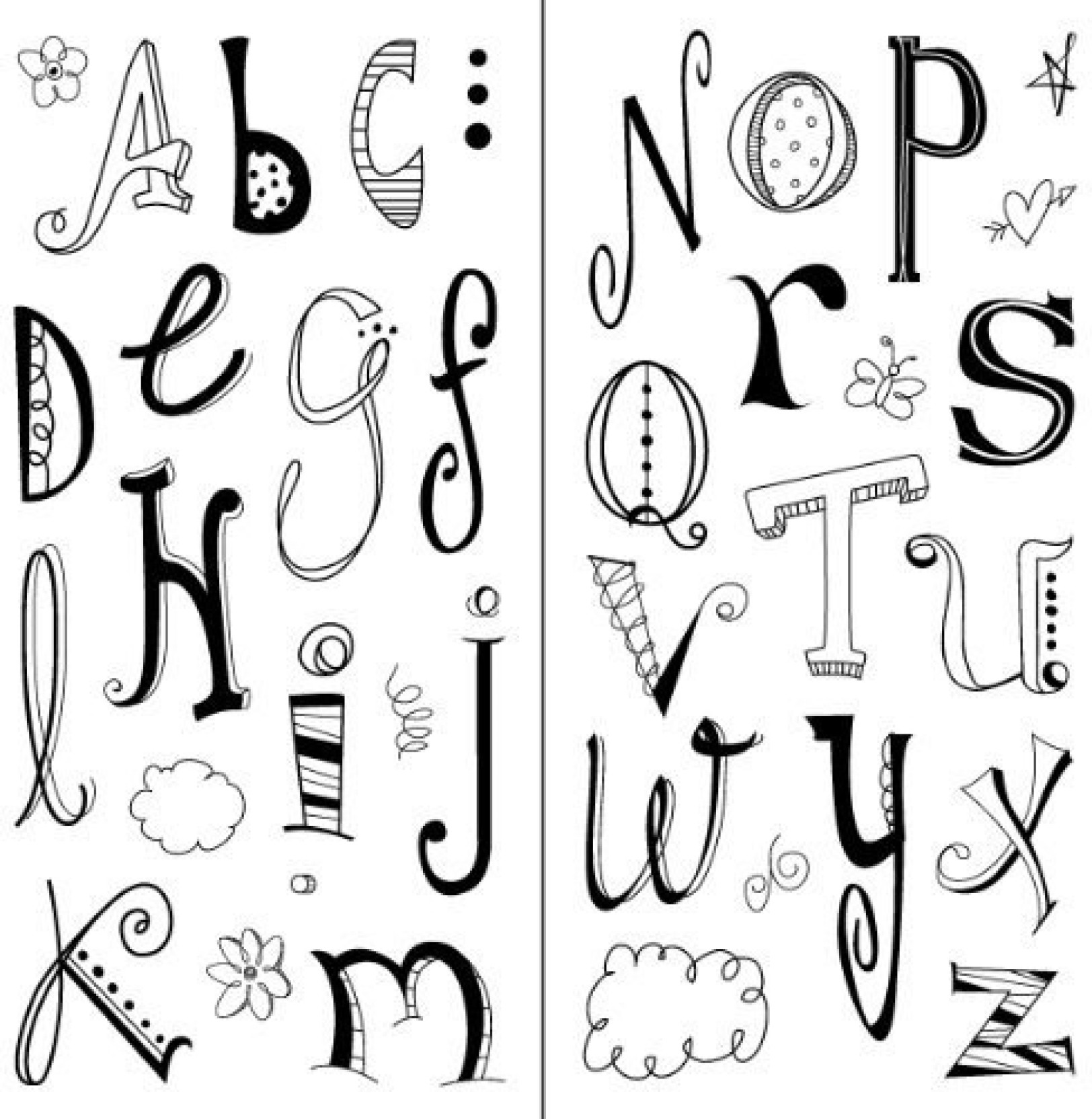 Craft Room Icons Inkadinkado Mini Cling Rubber Stamp