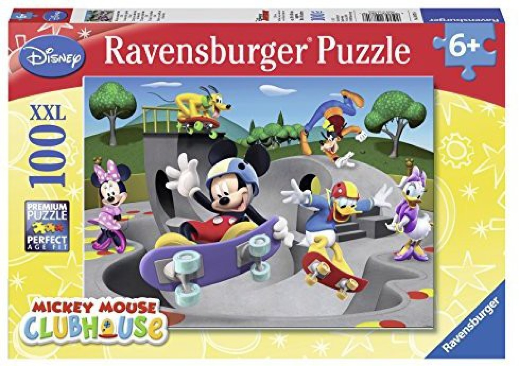 Ravensburger Mickey Minnie At The Skate Park Puzzle Buy Hexbug Circuit Boards Remote Control Skateboard Ramp Assorted On Offer
