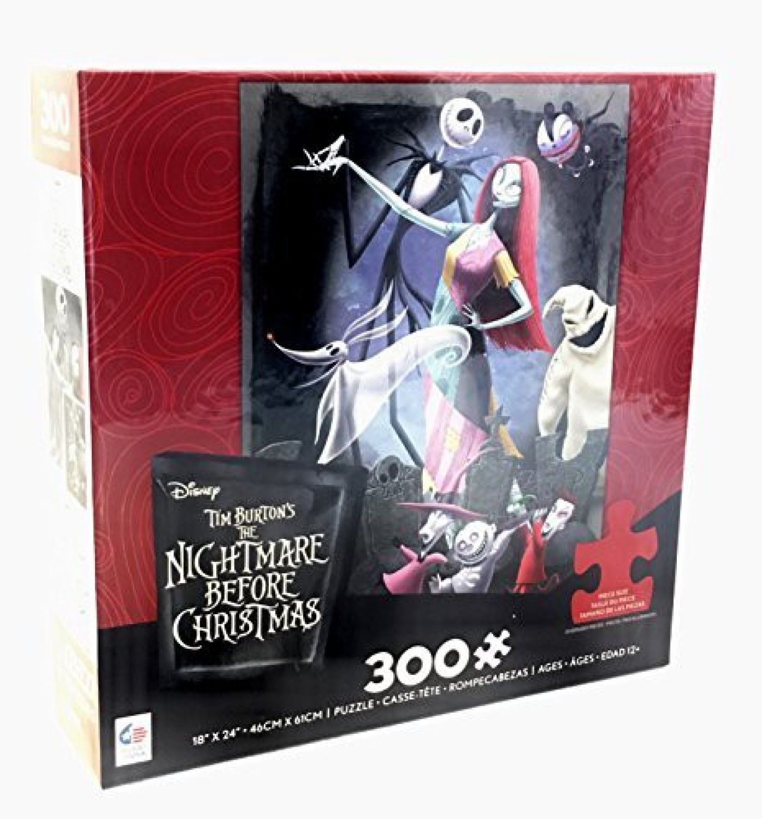 Ceaco Disney\'S Nightmare Before Christmas Puzzle Halloween Party ...