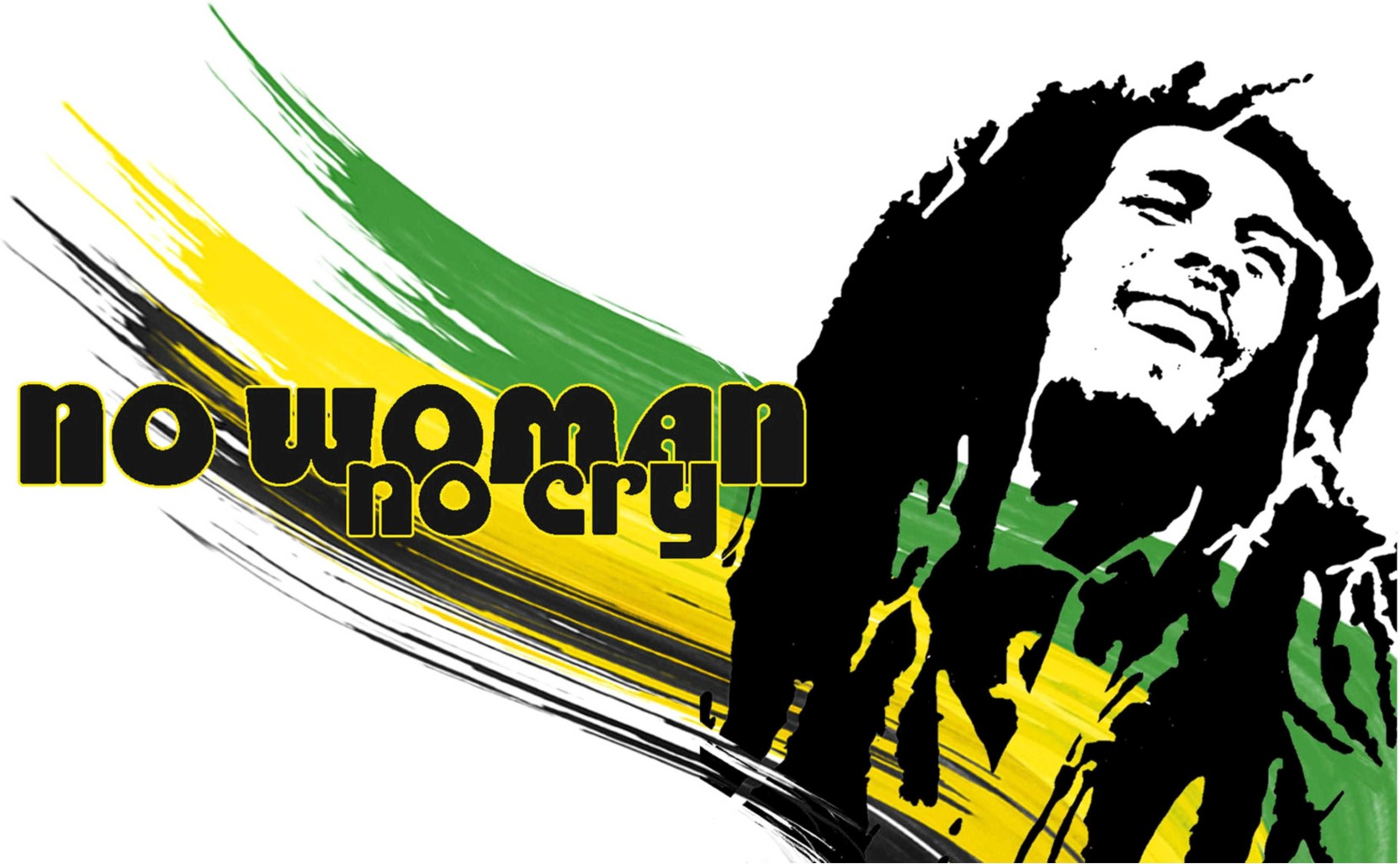 Bob Marley No Woman No Cry Poster for room and office Paper