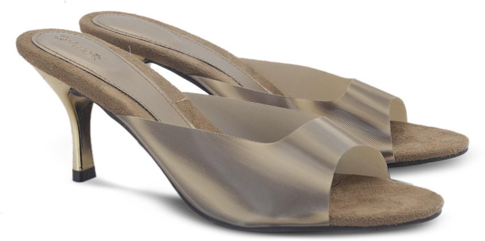 0f8c37ca3 Catwalk Women BRONZE Heels - Buy BRONZE Color Catwalk Women BRONZE ...