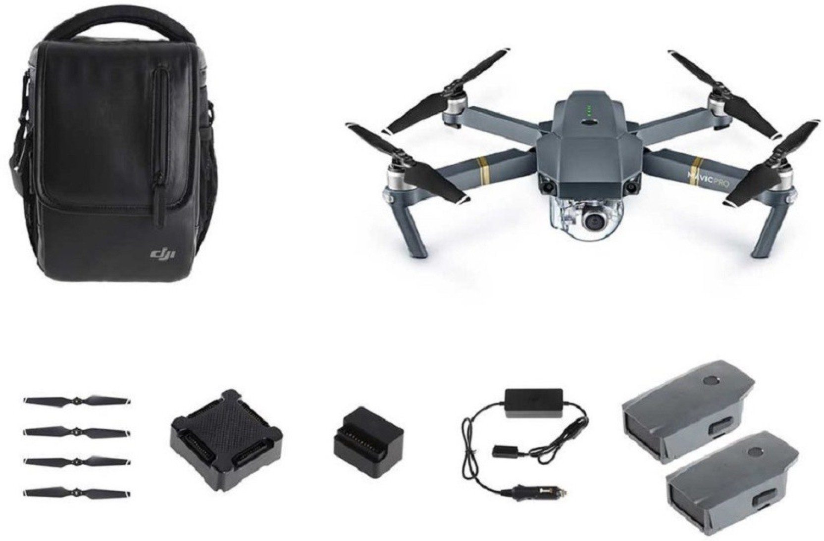 Dji Mavic Pro With Fly More Combo Mavic Pro With Fly More Combo  # Fly Meubles Audio Bois