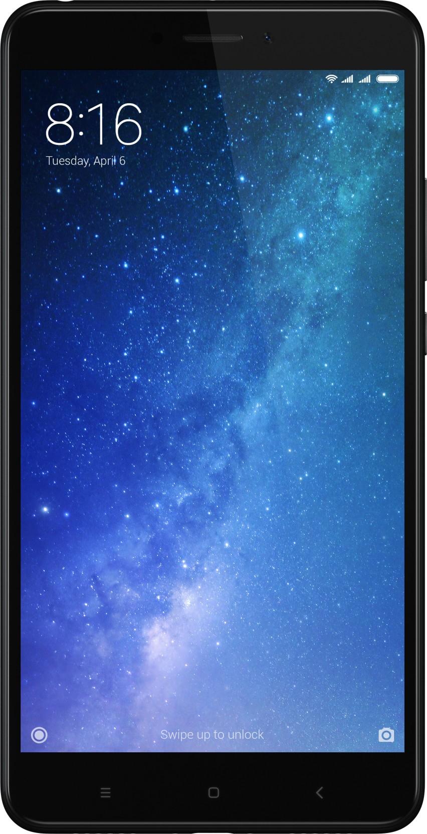 Mi Max 2 Buy Black 64 Gb Mobile Phone Online At Best Xiaomi Redmi Note 4 64gb Ram 4gb Distributor Lte Dual Sim On Offer