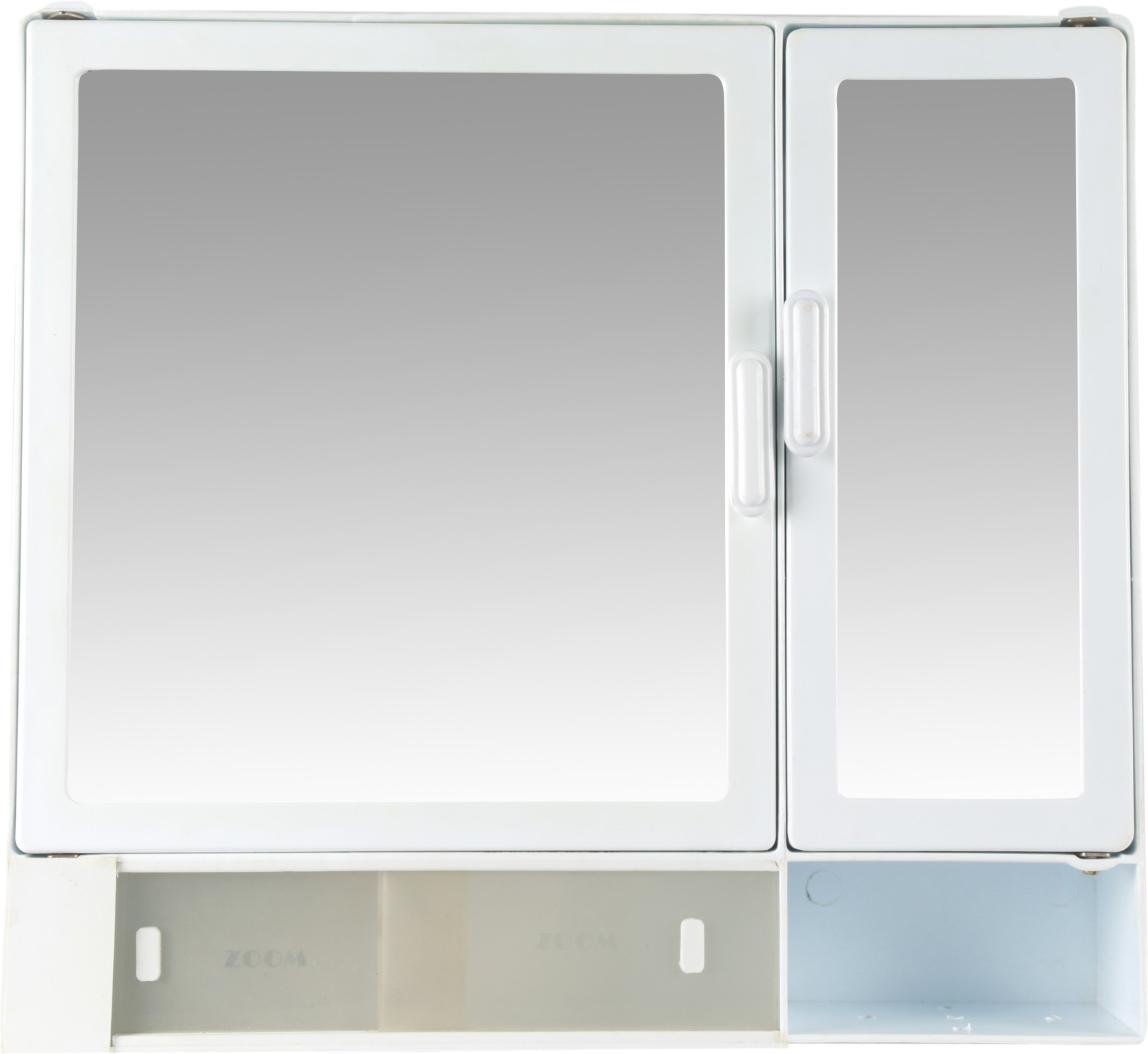 buy online 59ccd 36290 Zoom Butterfly Double Mirror Bathroom Cabinet (Sliding) Mirror Storage  Chest Plastic 17