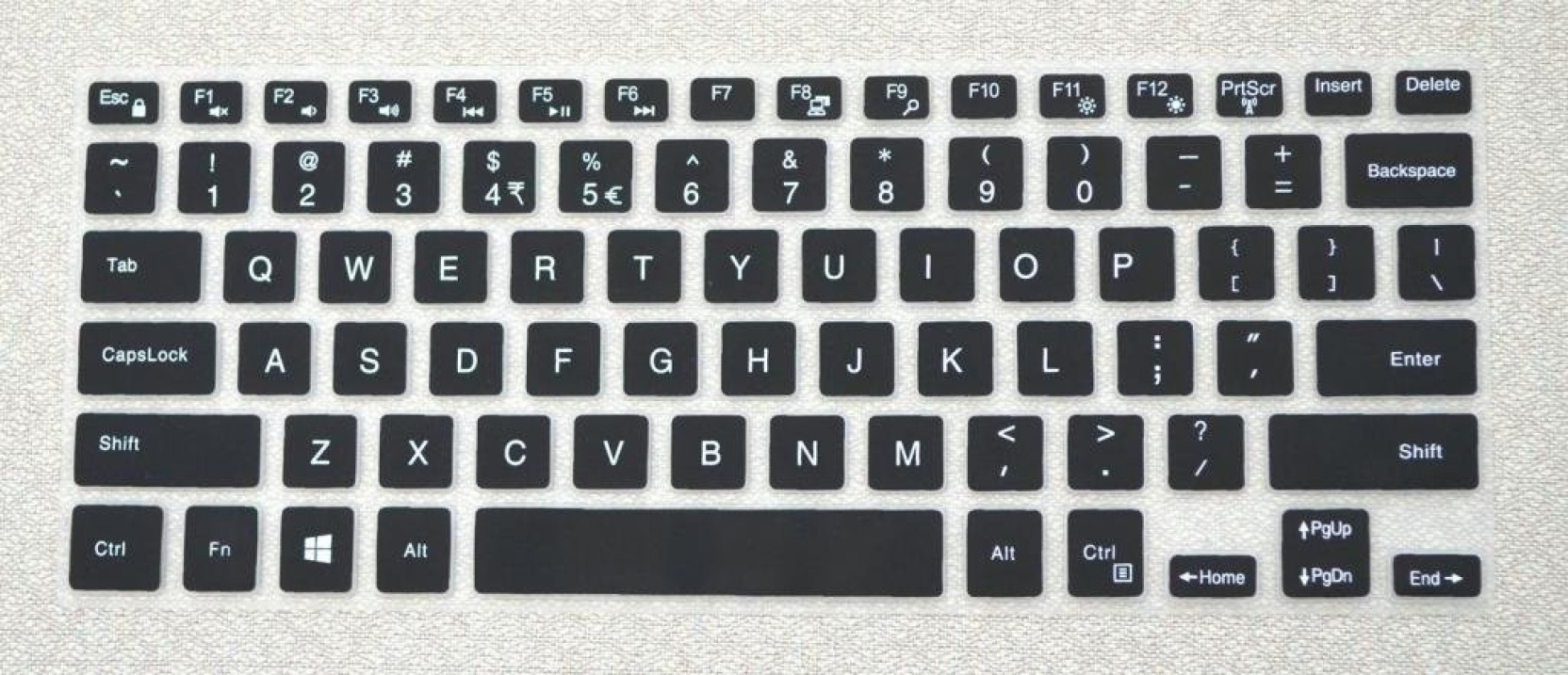 Saco Chiclet Keyboard Skin For 13 3 Dell Inspiron 7378 1440 Series Add To Cart