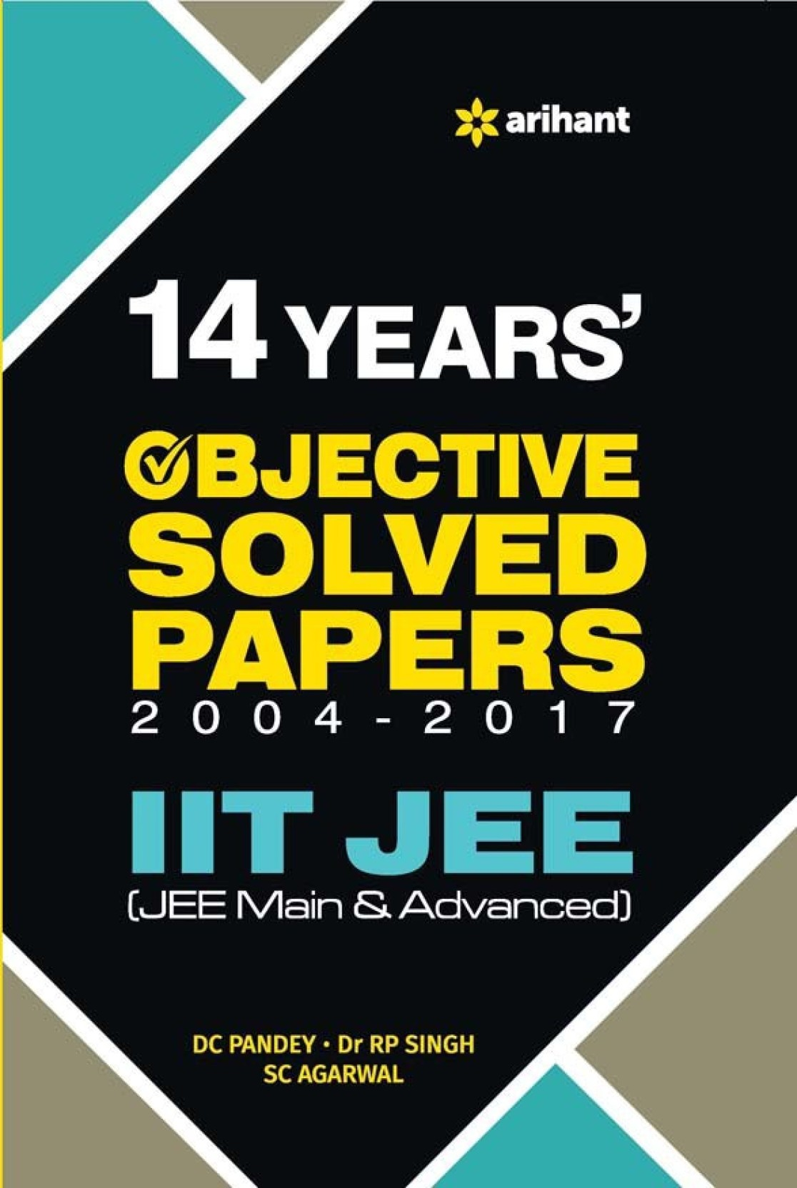 IIT JEE 14 Years Objective Solved Papers 2004 - 2017. ADD TO CART