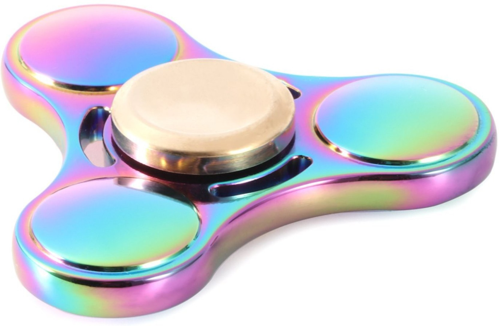 Spacerail Ufo Rainbow Colorful Fidget Hand Spinner Metal Body With Ckf Or Long Spinning Time On Offer