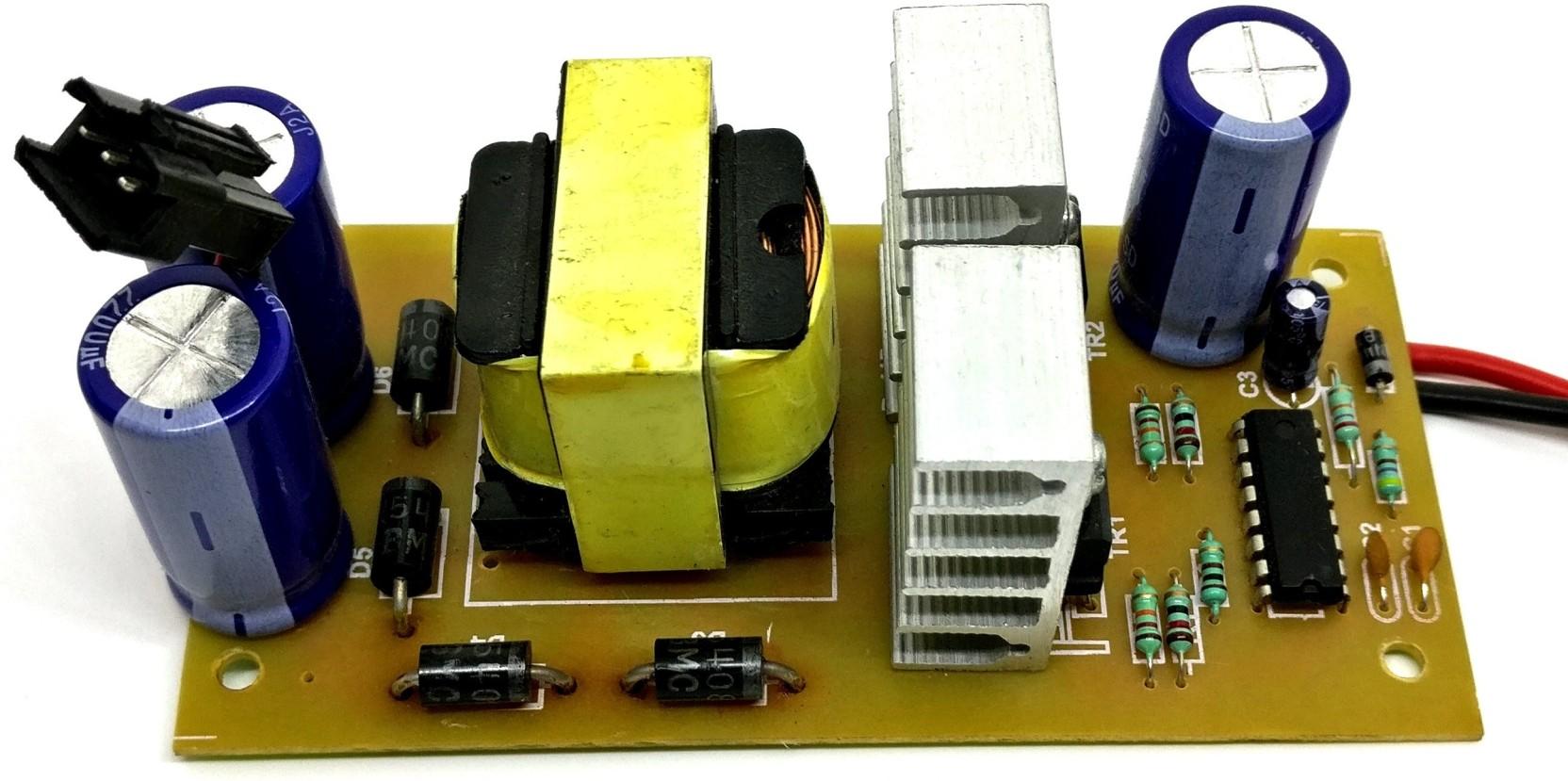 Tech And Trade Diy 12v Dc To 24 V 5 Amp Converter Power Supply Volt 45 Single Output 3055 Add Cart
