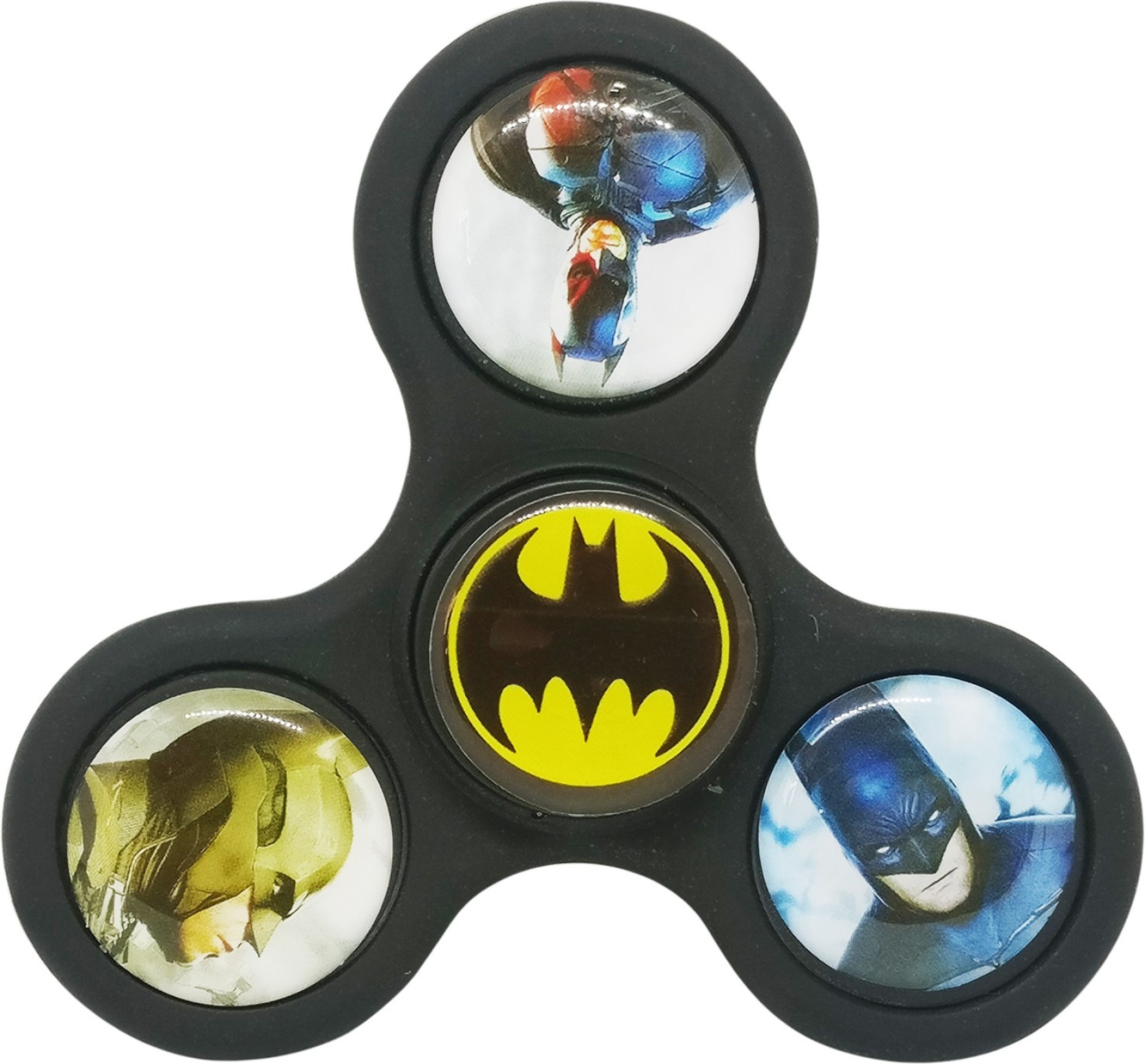 Montez Super Hero Bat Man Matt Finish High Speed Fidget Spinner Toy Toys Hand Batman On Offer