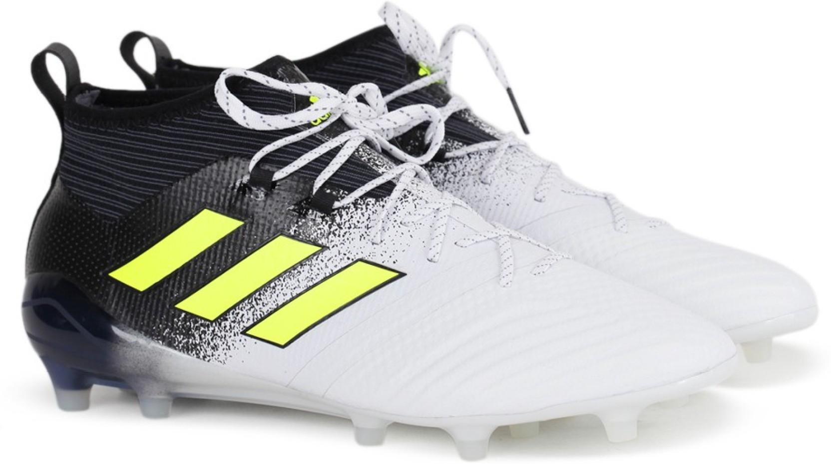 e09e1d11a7e ADIDAS ACE 17.1 FG Football Shoes For Men - Buy FTWWHT SYELLO CBLACK ...