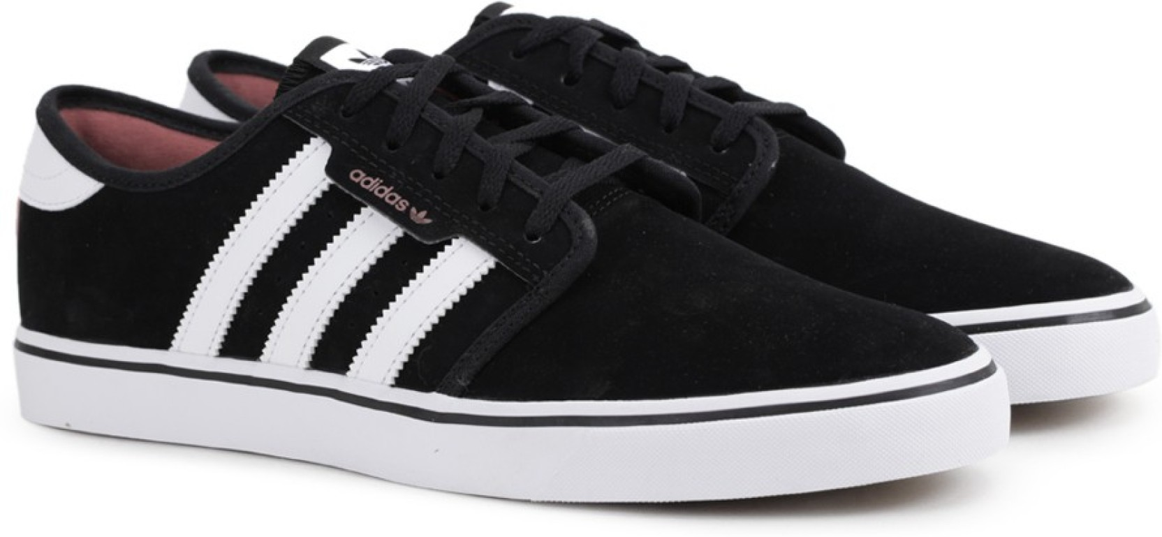 reputable site 5c904 f9619 ADIDAS ORIGINALS SEELEY Sneakers For Men (Black)