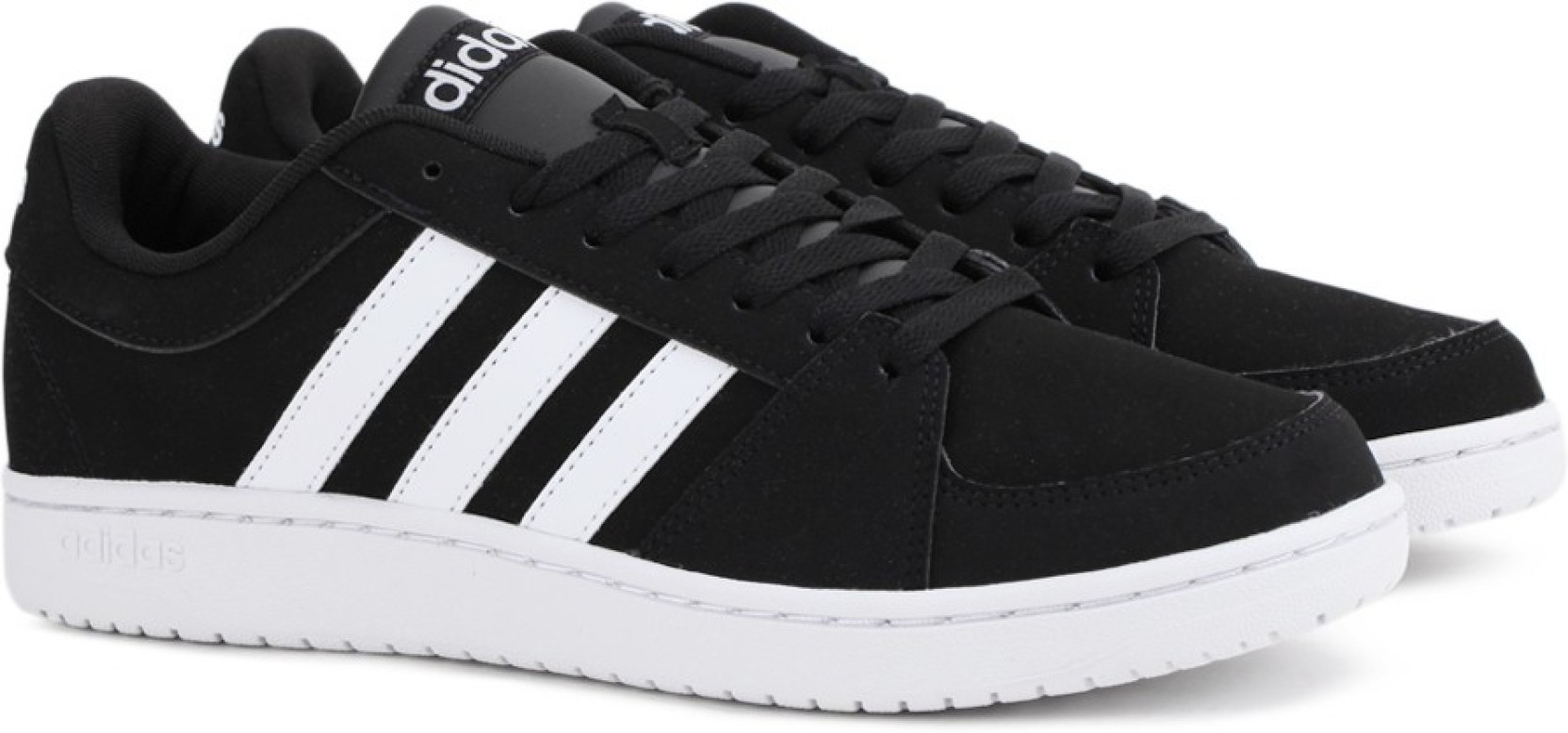 sneakers for cheap e6bee bcc89 ADIDAS NEO VS HOOPS Sneakers For Men (Black)