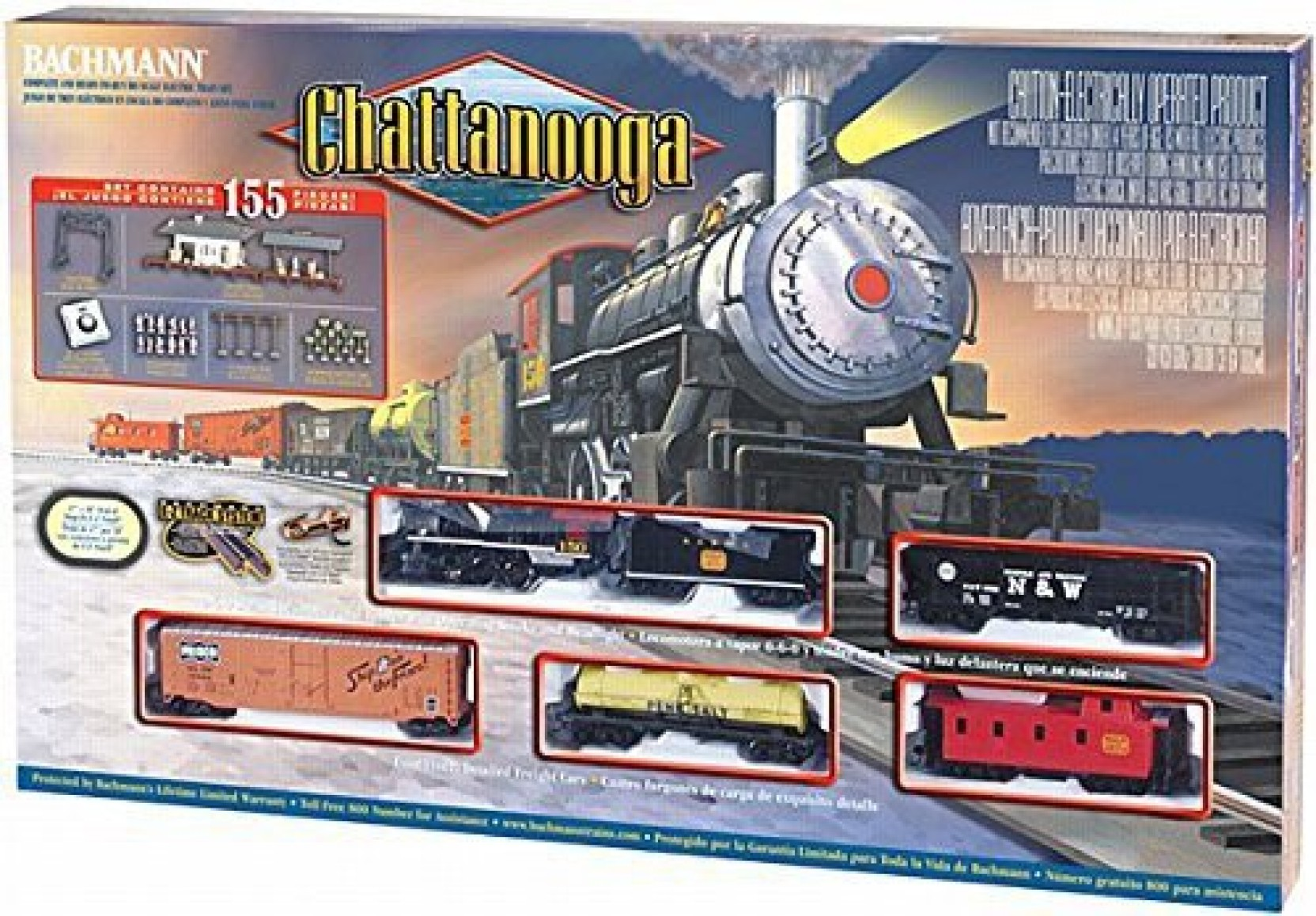 Bachmann Trains Chattanooga Ready To Run Ho Scale Train Track Switch Wiring Schematic Share