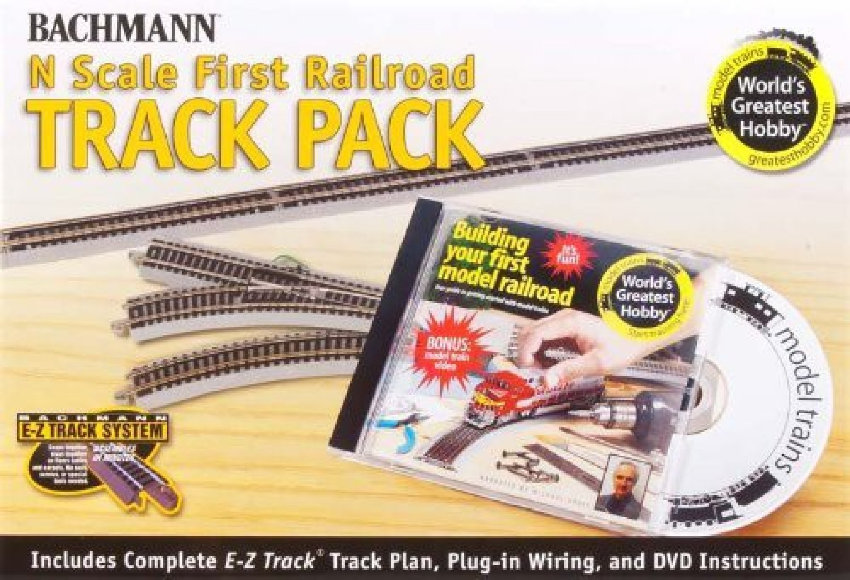 Bachmann Trains Worlds Greatest Hobby Track Pack N Scale Plan Wiring On Offer