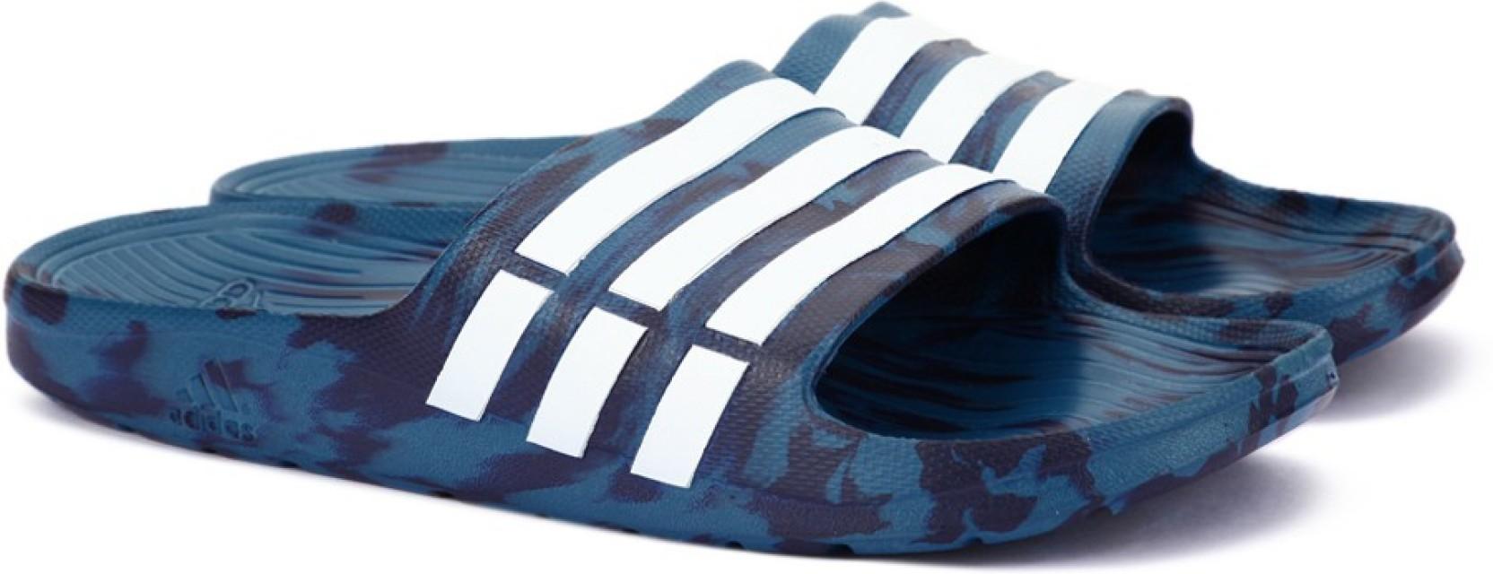 ade6d56e8aa5 ADIDAS DURAMO SLIDE Flip Flops - Buy CORBLU FTWWHT NOBINK Color ...