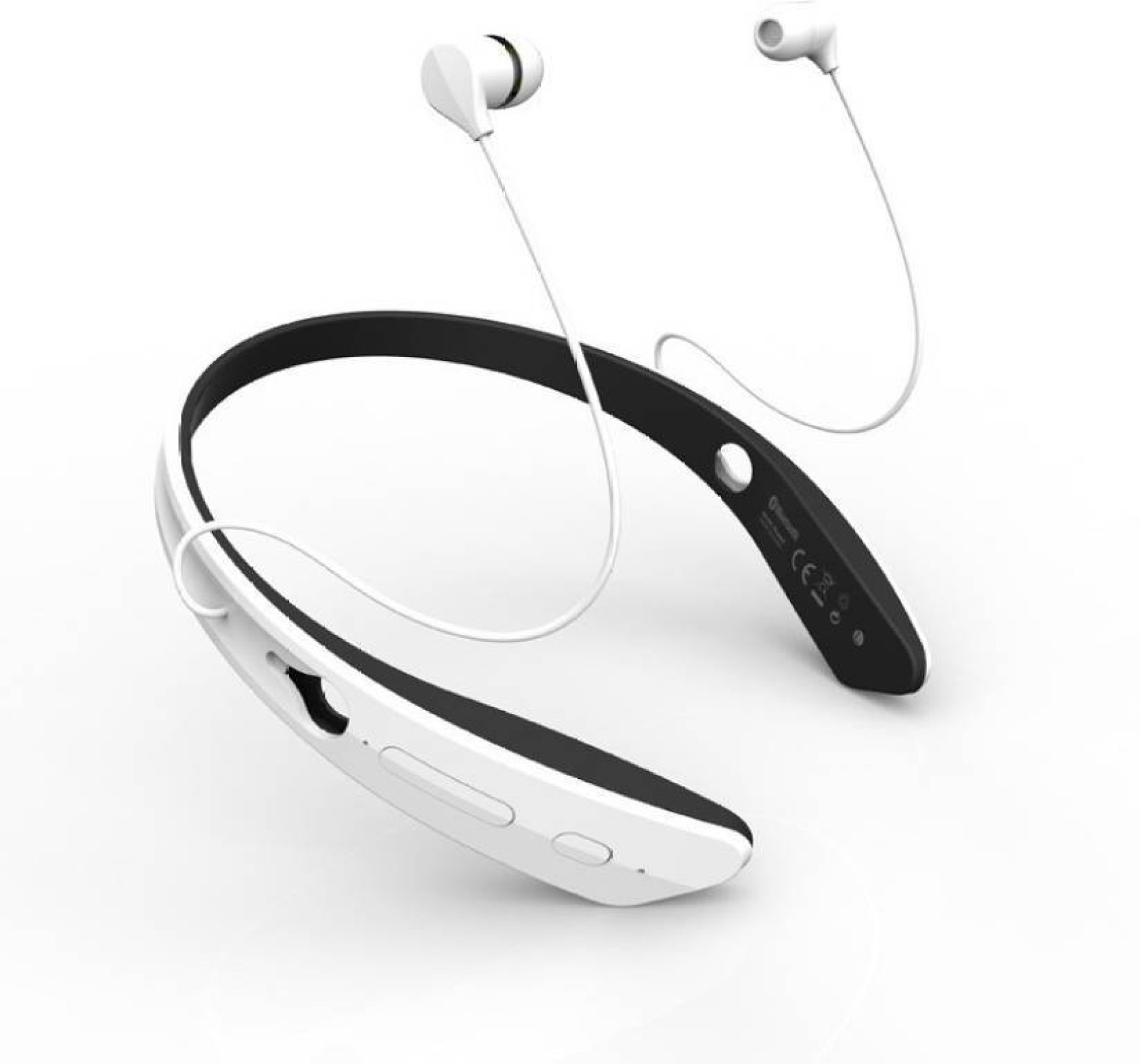 c5d21d986dd ShopyBucket New Design Headphone With Mic_TK2 Bluetooth Headset with Mic  (White, In the Ear)