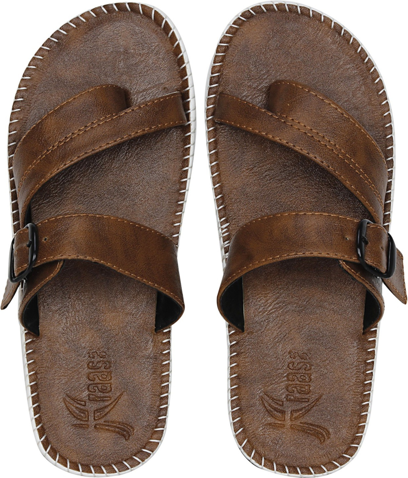 8c4b50a54 Kraasa Slippers - Buy Camel Color Kraasa Slippers Online at Best ...