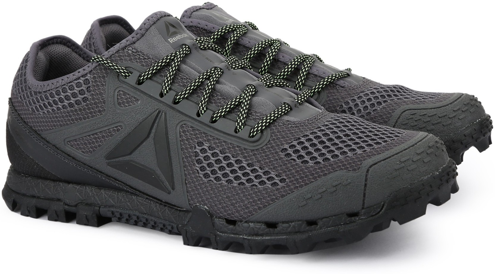 6884e6b2b85b REEBOK ALL TERRAIN SUPER 3.0 Running Shoes For Men - Buy GRY BLK ...