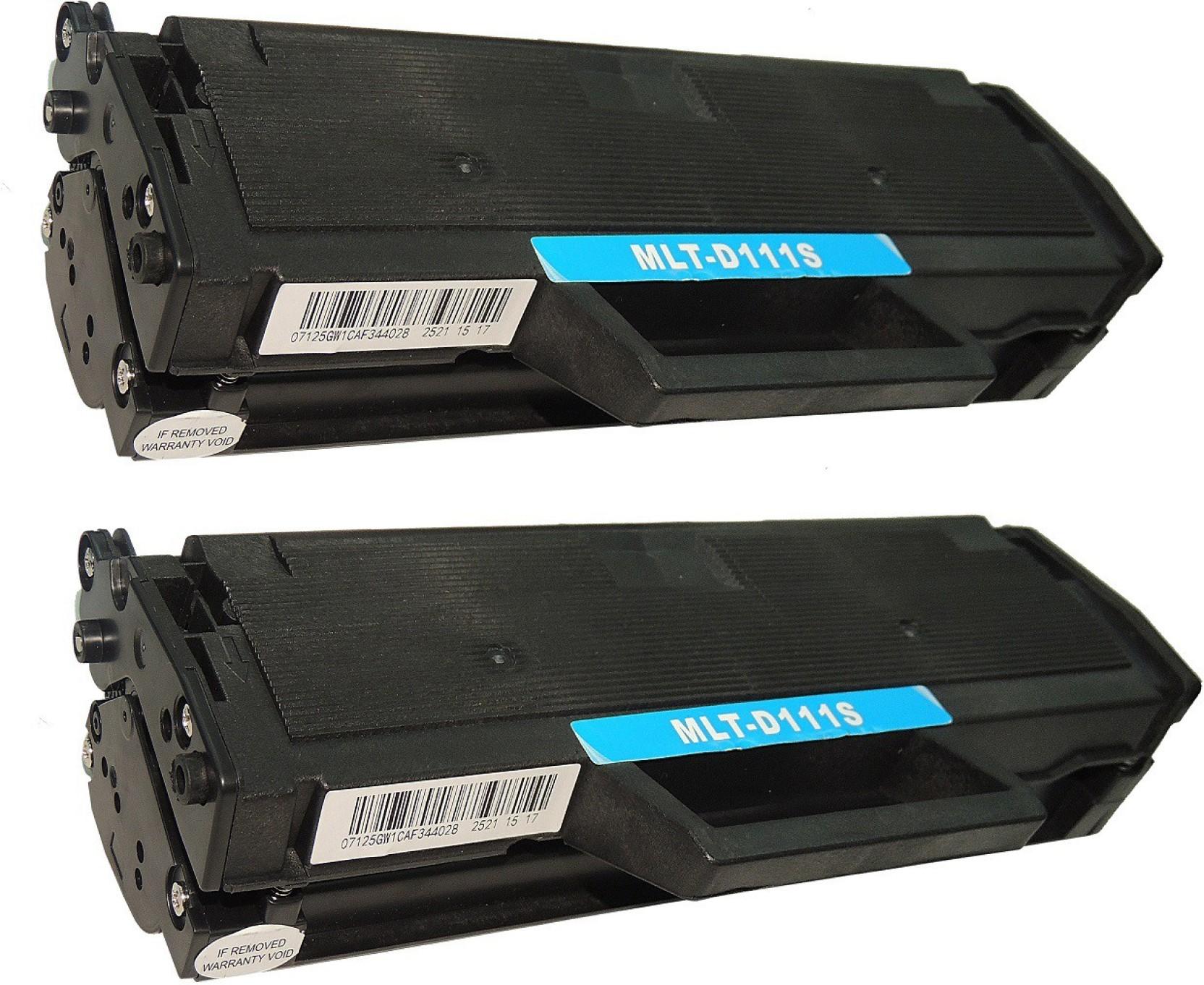 Best Home Inkjet Printers 2020 Best 4U  111S/ MLT D111S(Pack of 2) Laserjet Toner cartridge for