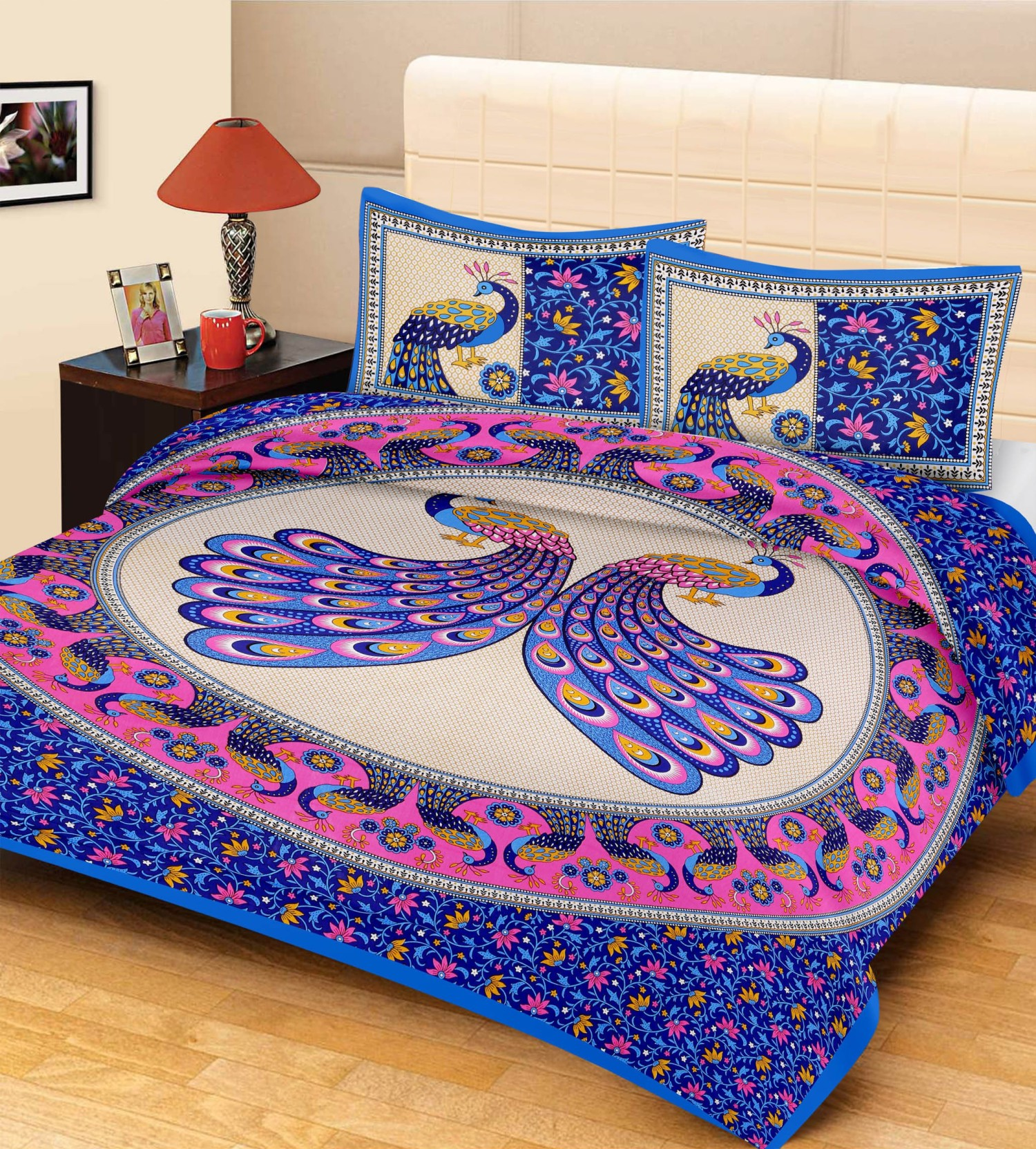 Metro living cotton animal double bedsheet buy metro for Beds 80 off