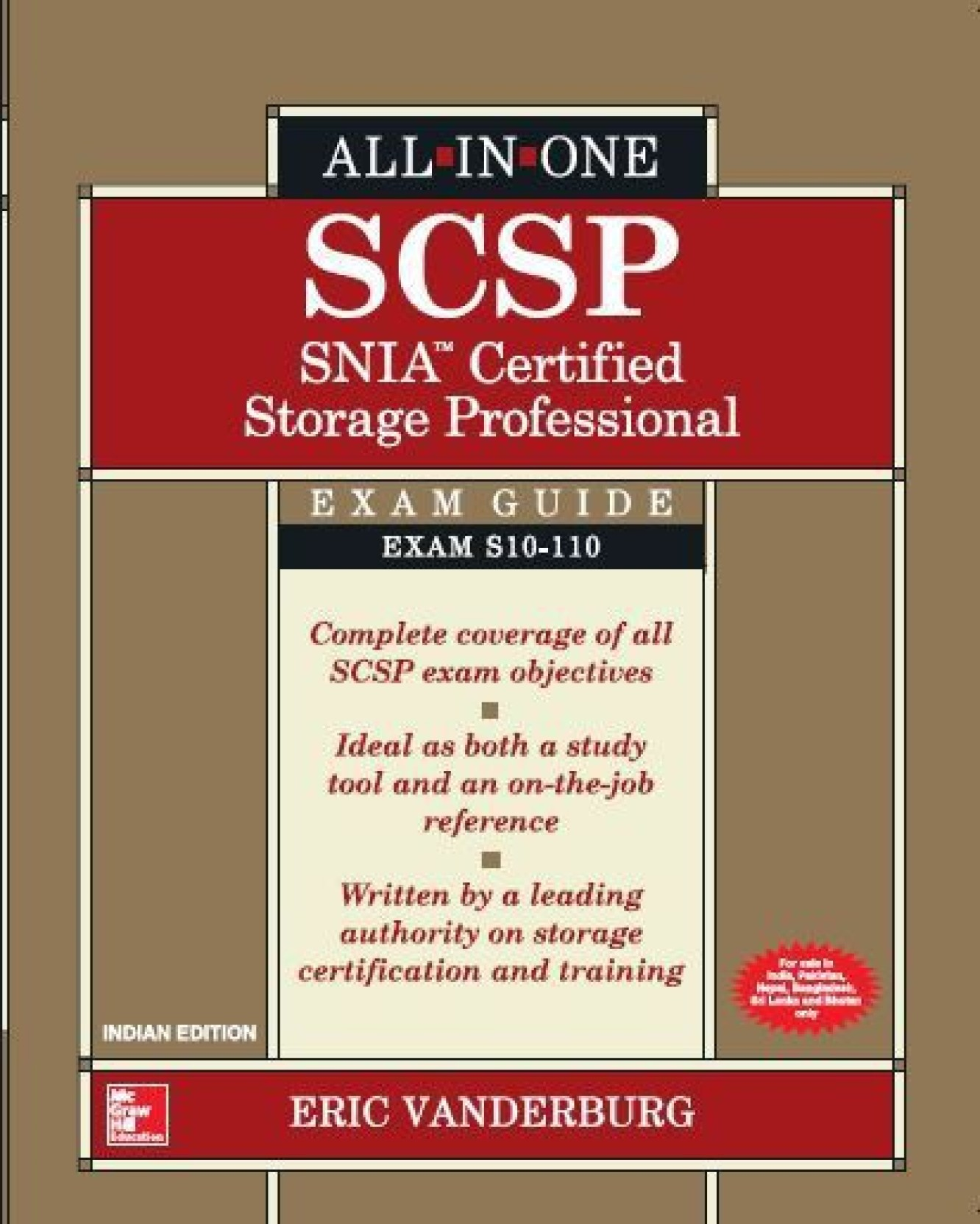 All In One Scsp Snia Certified Storage Professional Exam Guide First