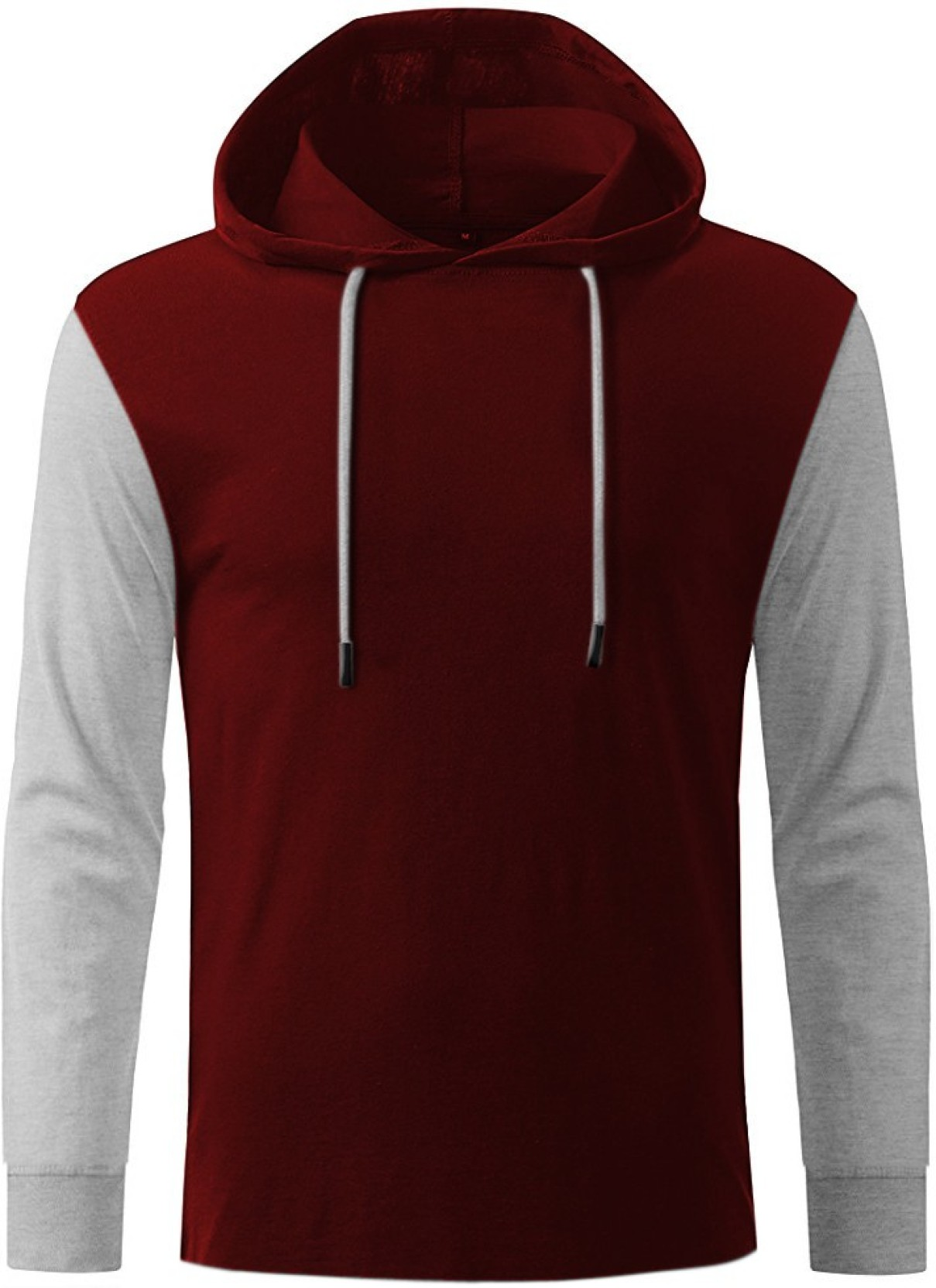 Ghpc solid men 39 s hooded maroon t shirt buy maroon ghpc for Best place to buy t shirts online