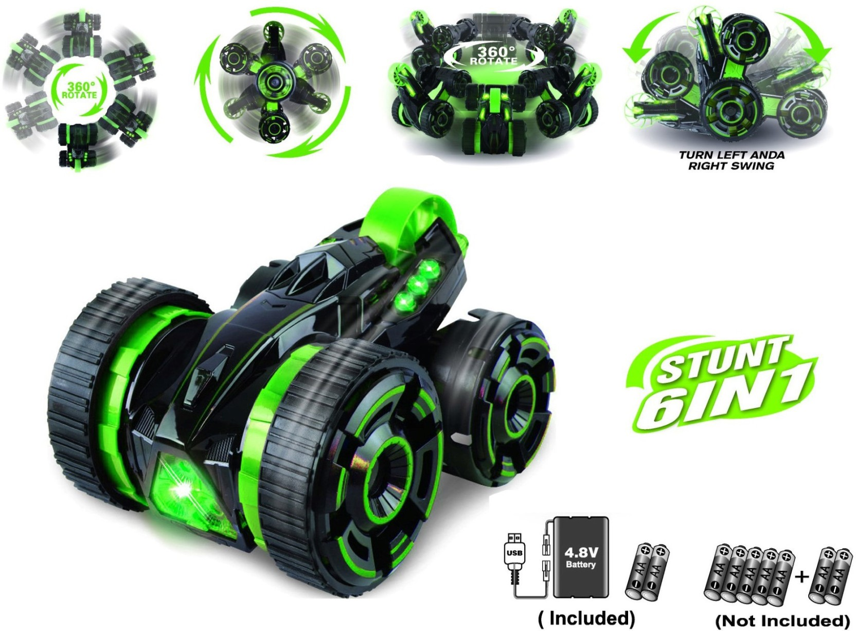 Miss Chief 5rounds R C Stunt Car On Double Faced Dc Motor 148 Gear Ratio Smart Robot Wheel Add To Cart