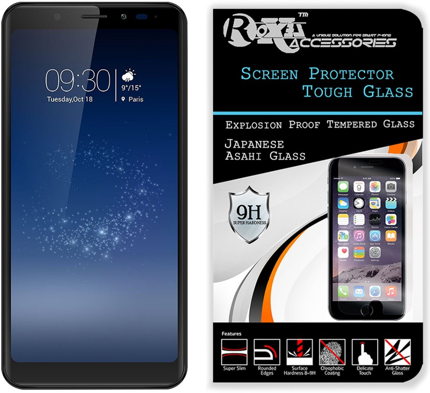 Roxel Tempered Glass Guard for Micromax Canvas Infinity