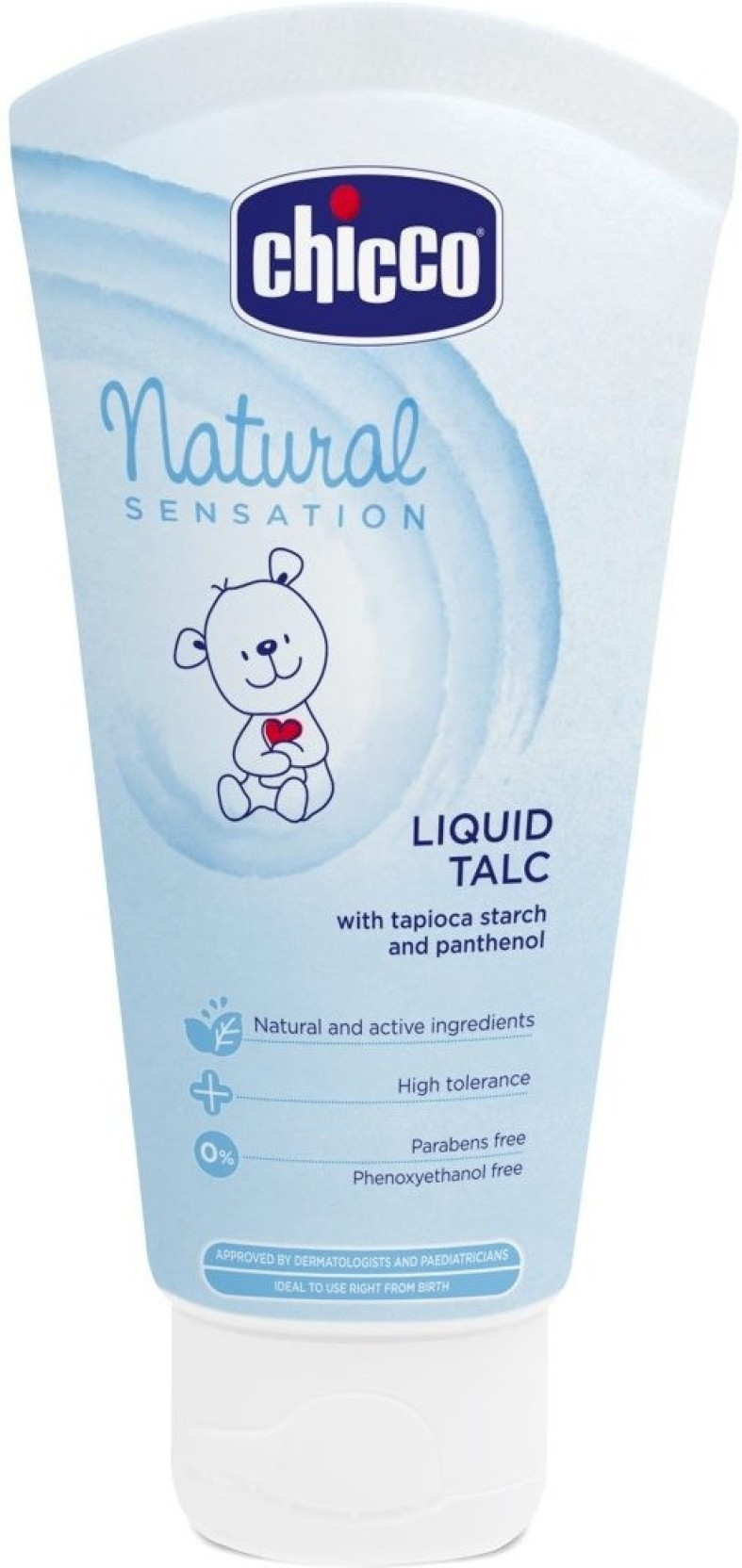 Chicco Natural Sensation Liquid Talc Blue 100ml Price In Baby Moments Nappy Cream Add To Cart