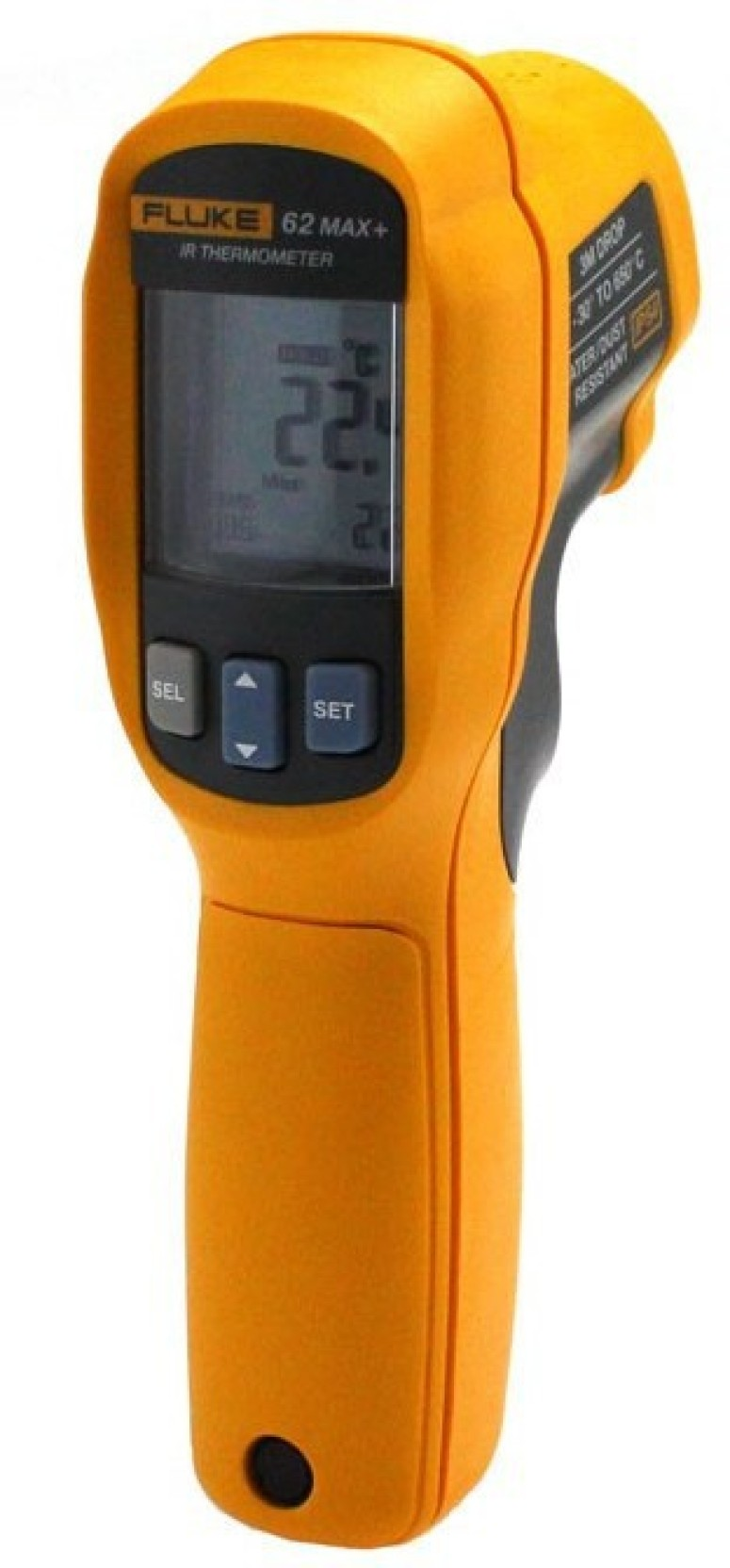 Fluke 62 Max plus Infrared Thermometer Digital Multimeter (Yellow 2000  Counts) 688d8803043fa