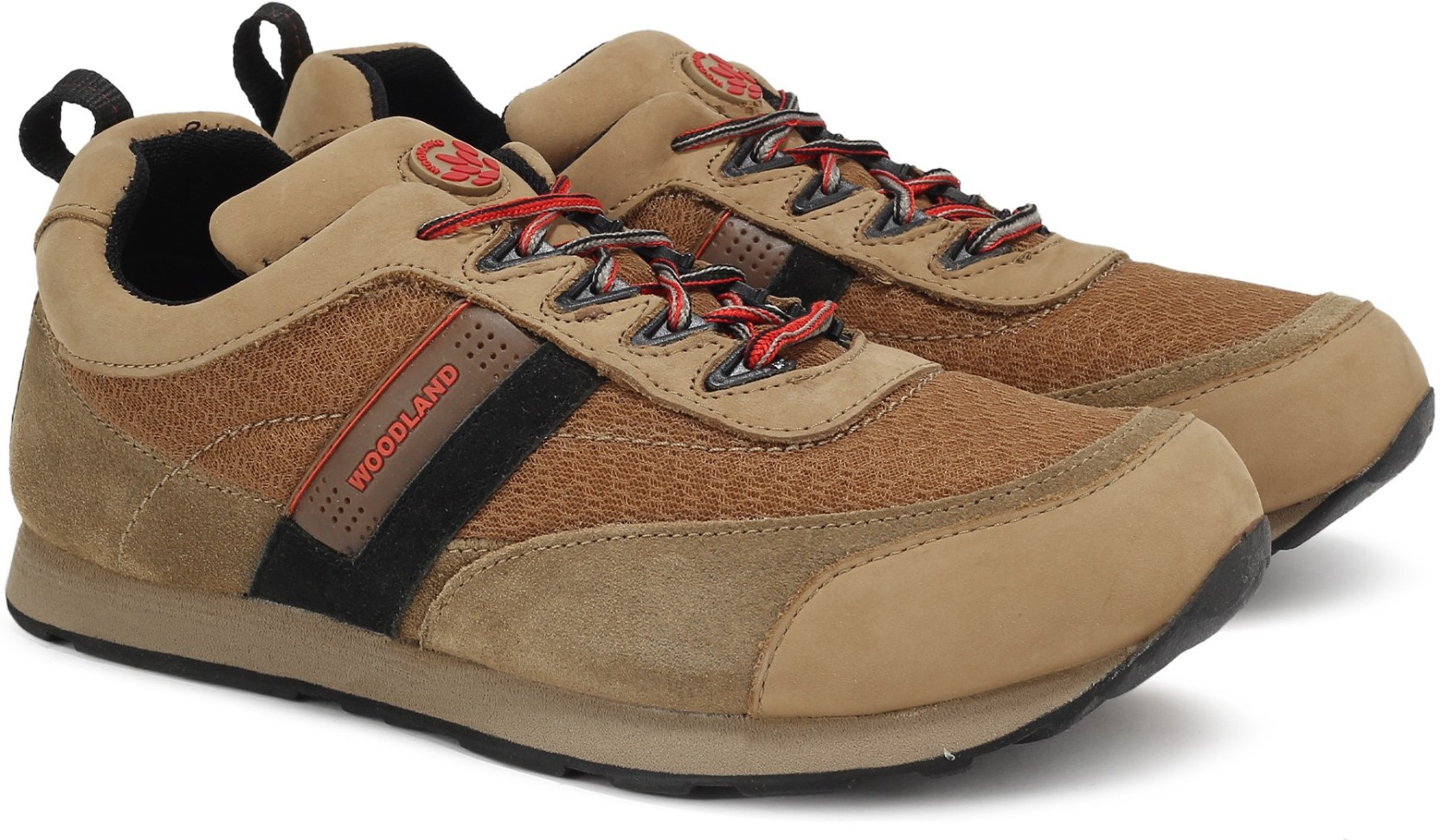 Woodland Leather Sneakers - Buy CAMEL Color Woodland ...
